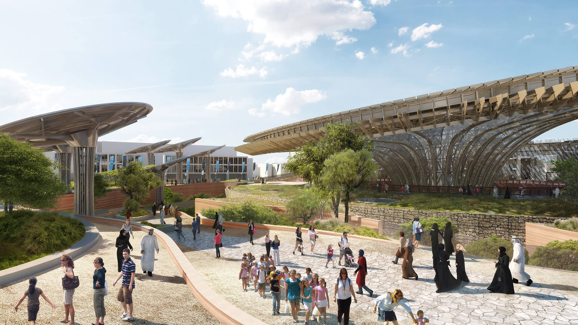 The Sustainability Pavilion designed by Grimshaw Architects | Expo 2020 Dubai | Grimshaw Architects | STIRworld