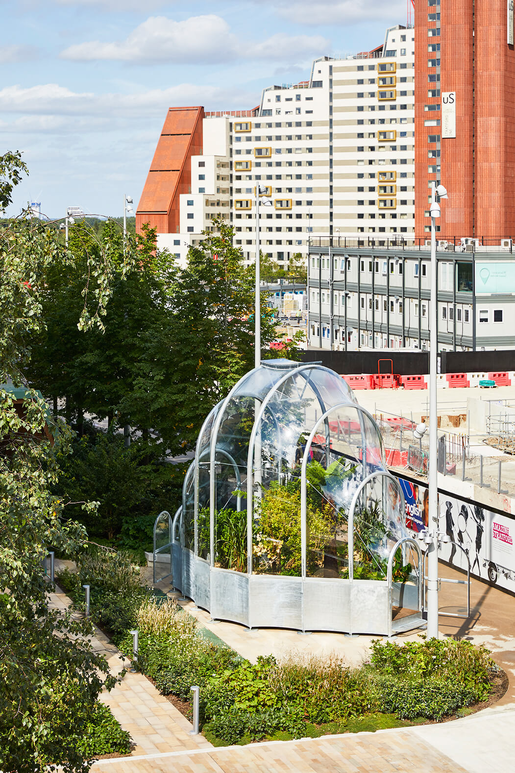 The Hothouse is an interesting commentary on the history of International Quarter London(IQL) | The Hothouse, Studio Weave | London Design Festival  | STIRworld