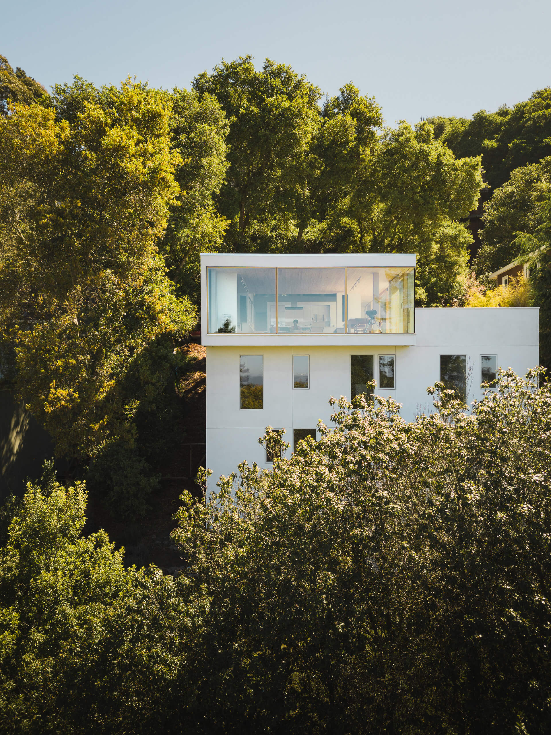 House of Light sits nestled among trees | House of Light designed by Rangr Studio | STIRworld