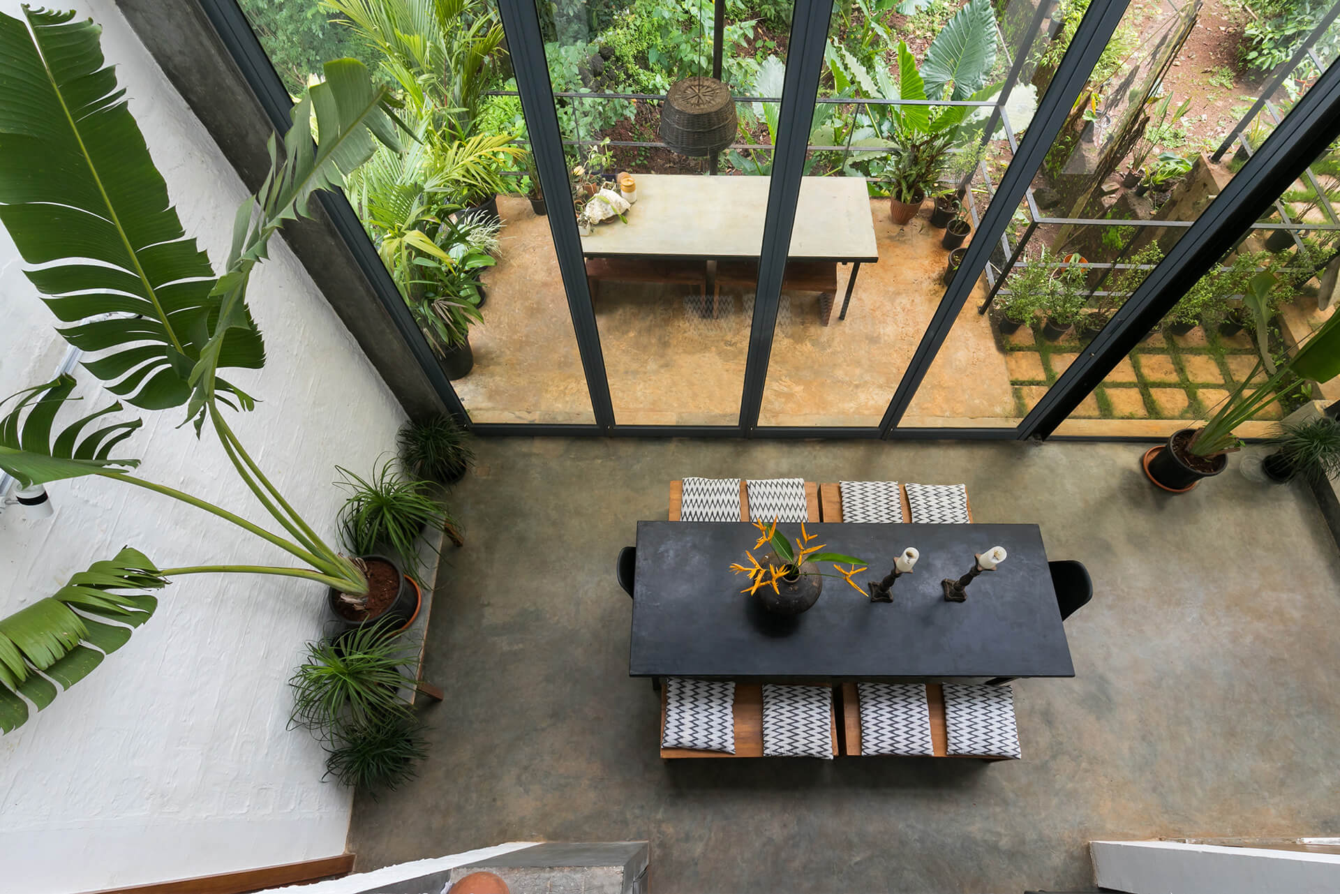 The dining and outdoor court | Kokum House | Goa | STIRworld