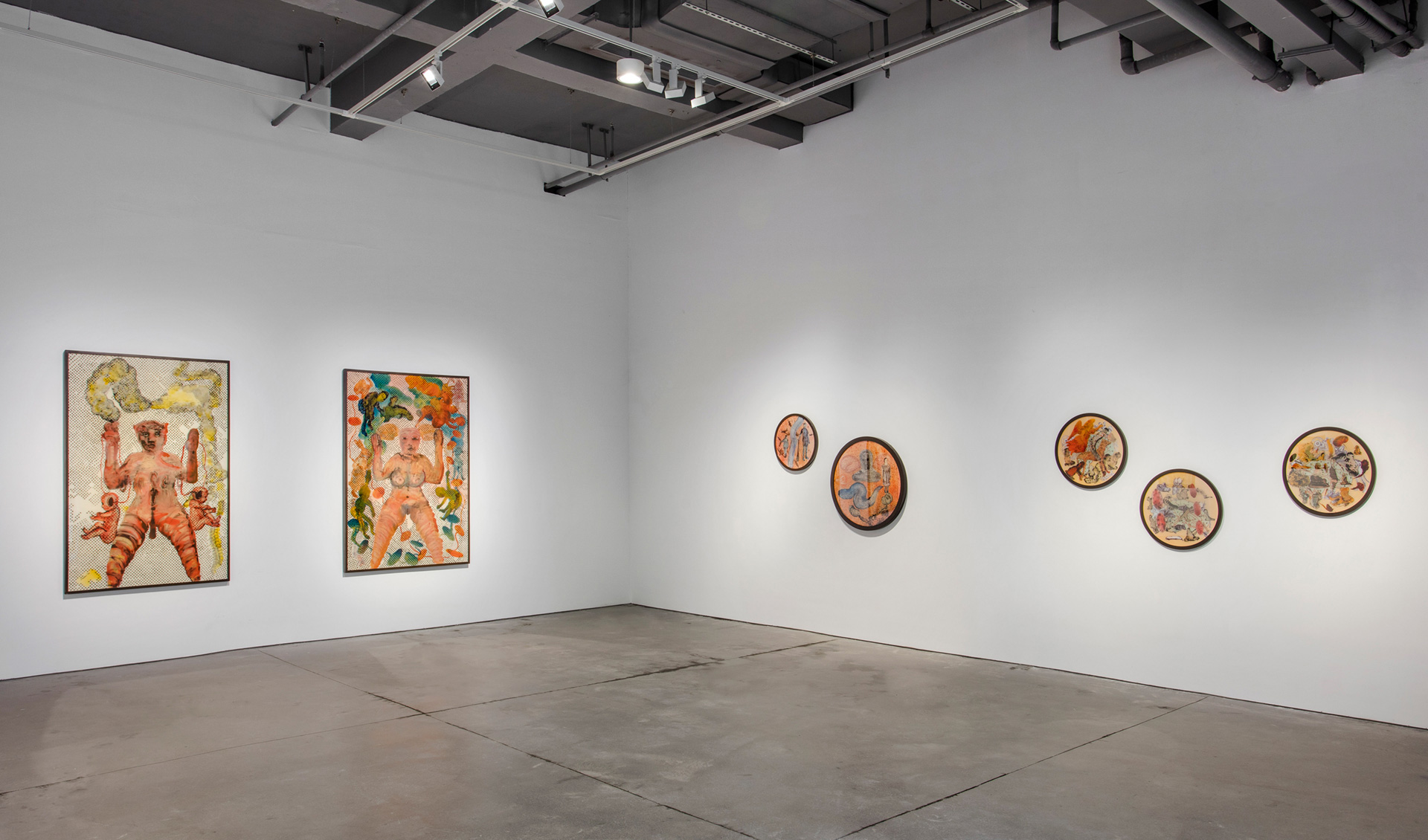 <em>Can You Hear Me?: Nalini Malani 1969-2018</em>, Installation view 2 | Can You Hear Me| Nalini Malani| STIR