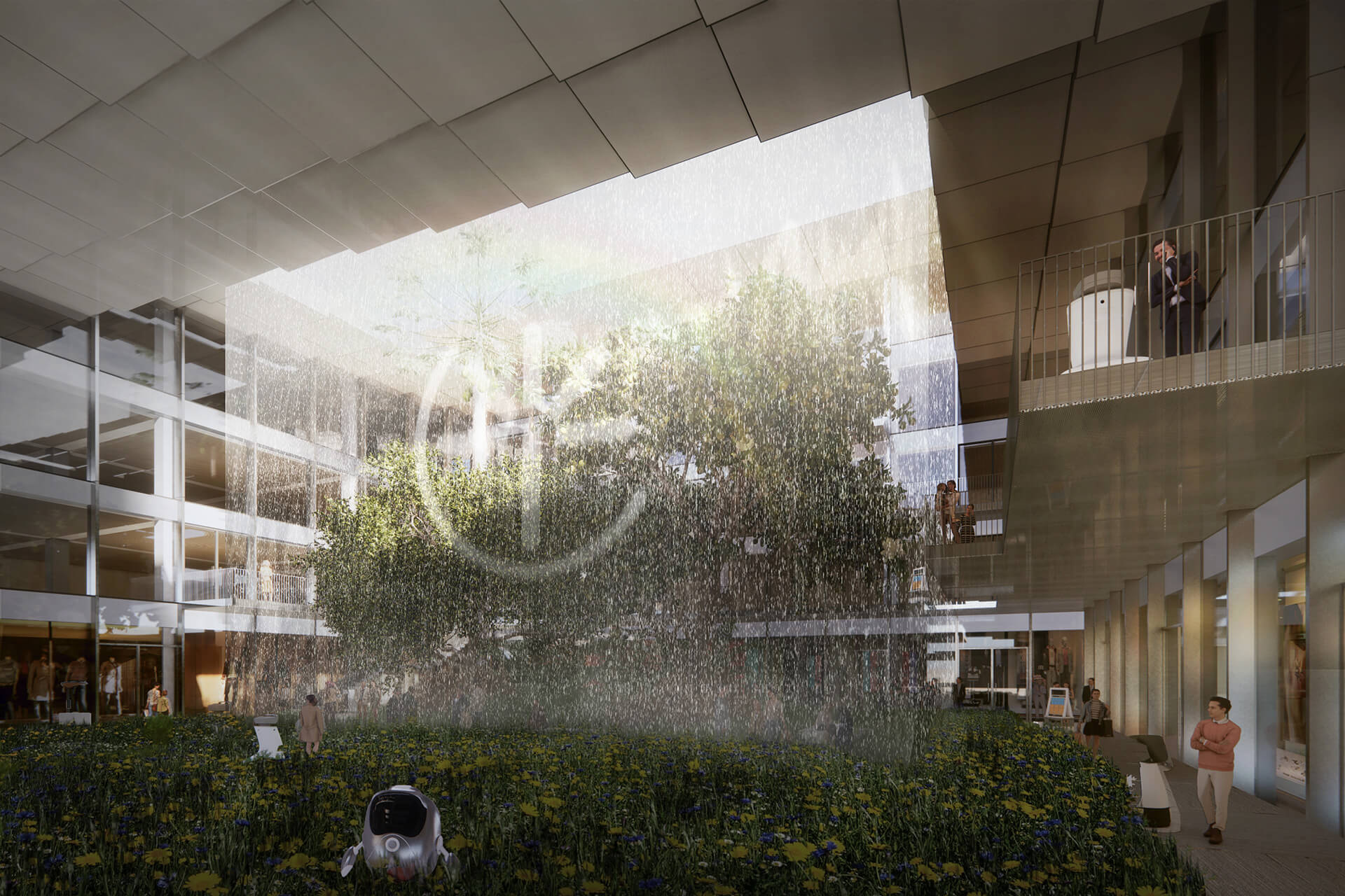 Cultural Courtyard | AI CITY by Bjarke Ingels Group | STIRworld