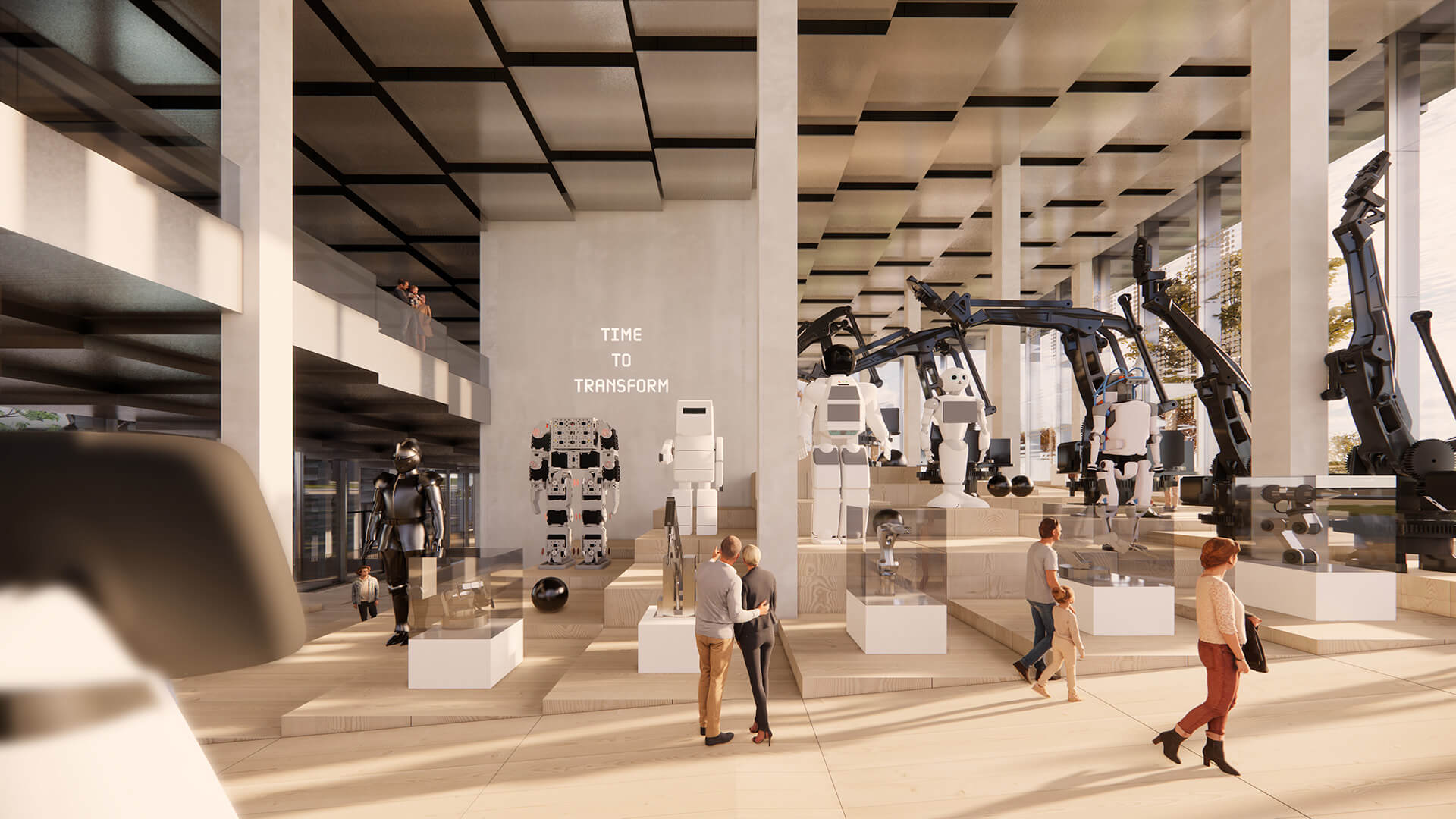 Robot Museum | AI CITY by Bjarke Ingels Group | STIRworld