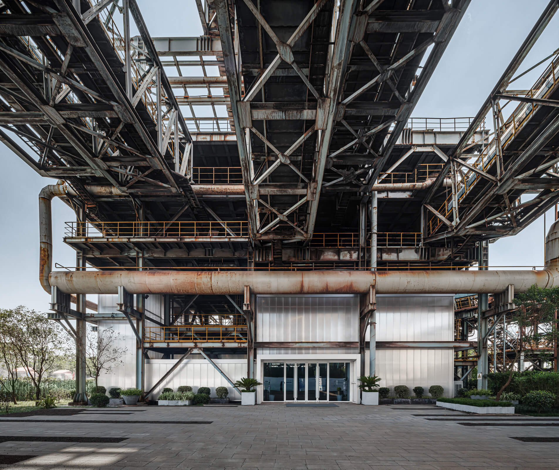 Entrance to the Baoshan Waste-to-Energy Exhibition Center | Kokaistudios | Shanghai | STIRworld