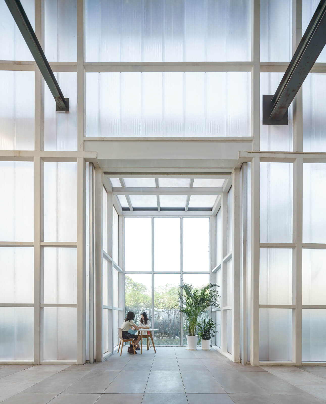 Layers of transparency within the space | Kokaistudios | Shanghai | STIRworld