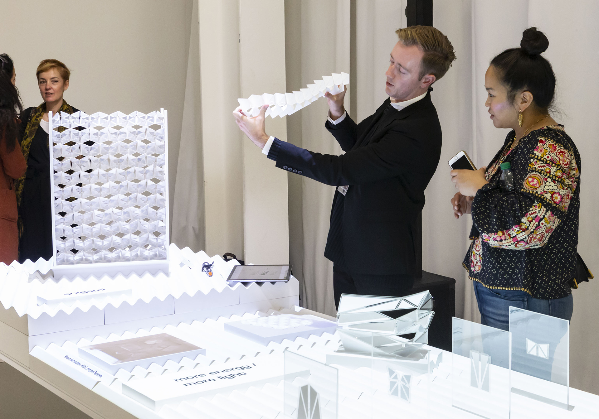 Ben Berwick explaining the concept of Solgami| Ben Berwick| Lexus Design Award| STIR
