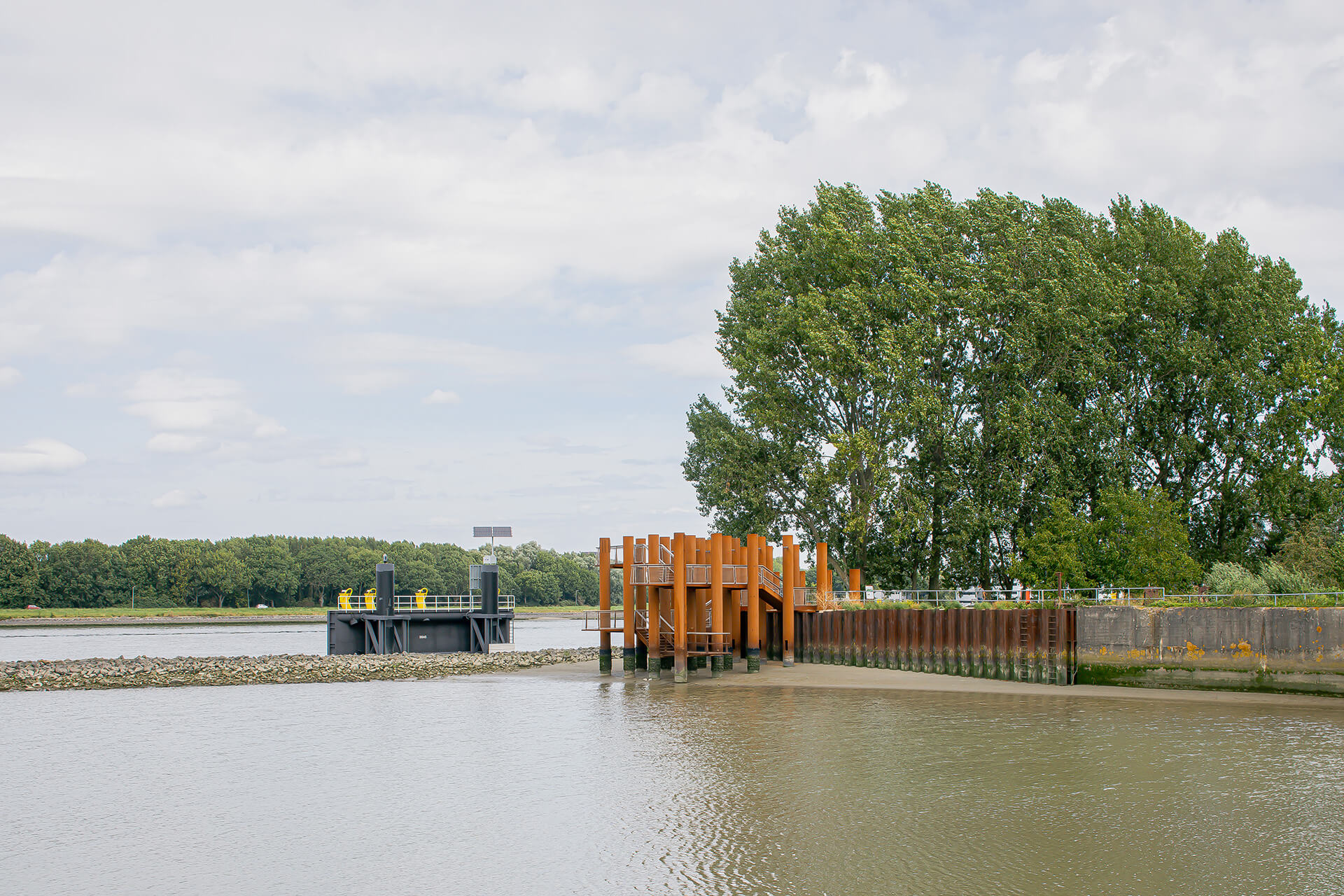 Water Woods in context of the Maas river in Rotterdam  | Water Woods Maaspoints | Next Architects | STIRworld