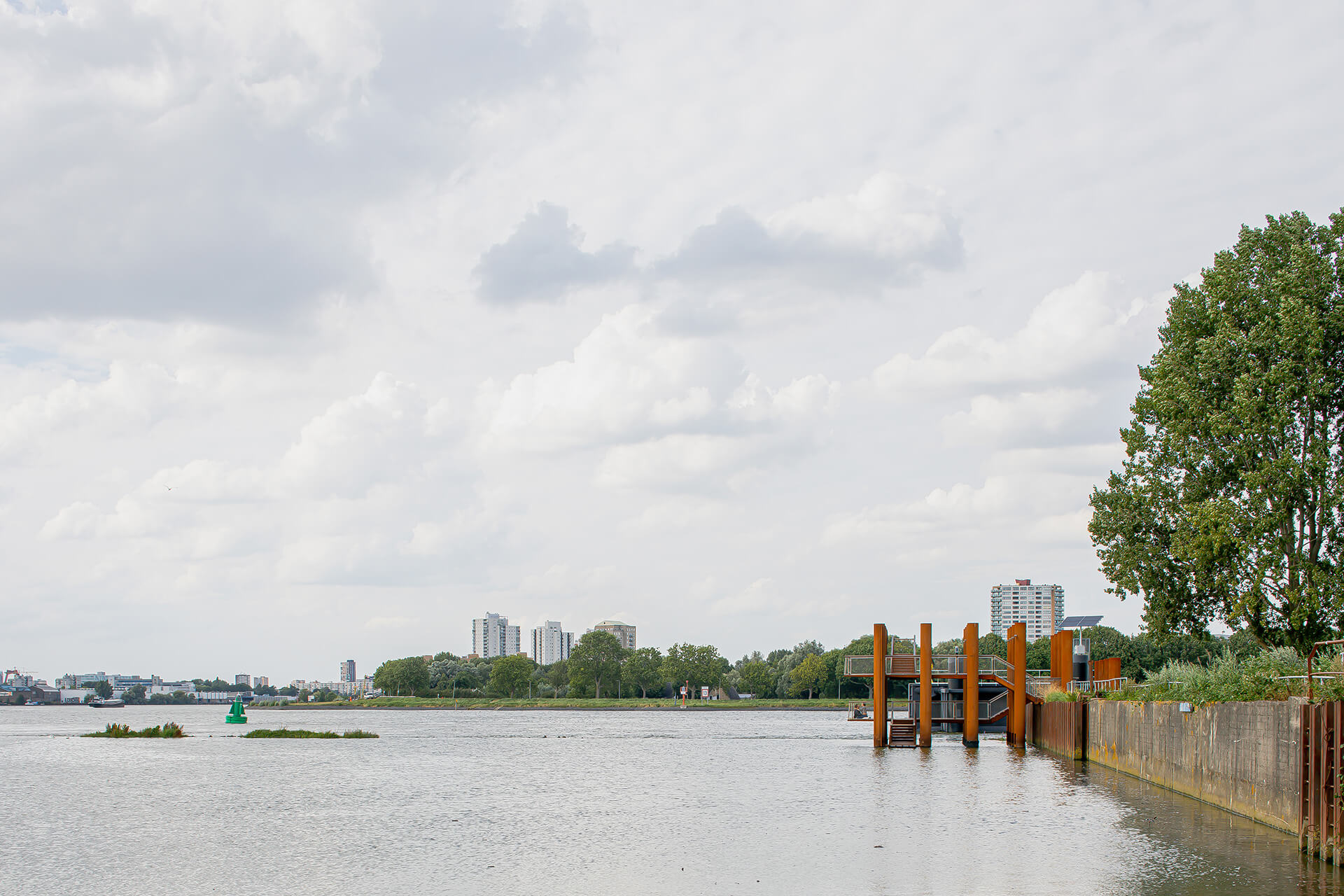 The Water Woods installation is the first of the various Maaspoints that are planned to appear on the edge of the Maas river | Water Woods Maaspoints | Next Architects | STIRworld