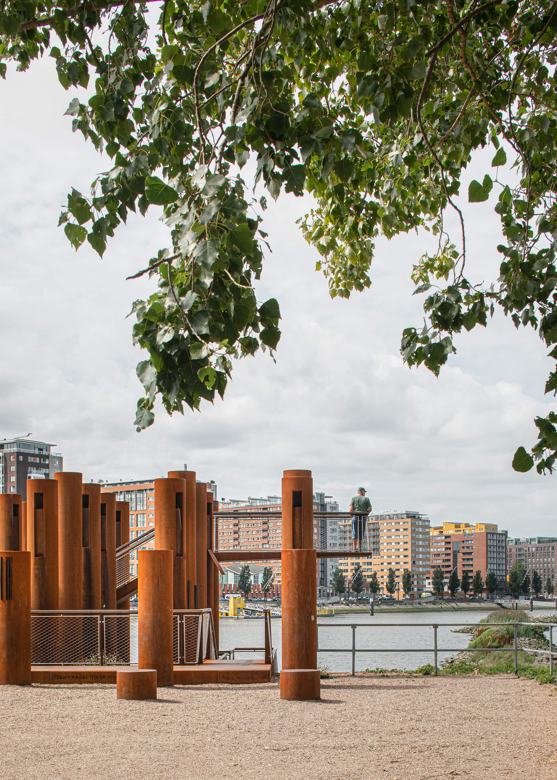 Water Woods, a new urban space for the Rotterdam city | Water Woods Maaspoints | Next Architects | STIRworld
