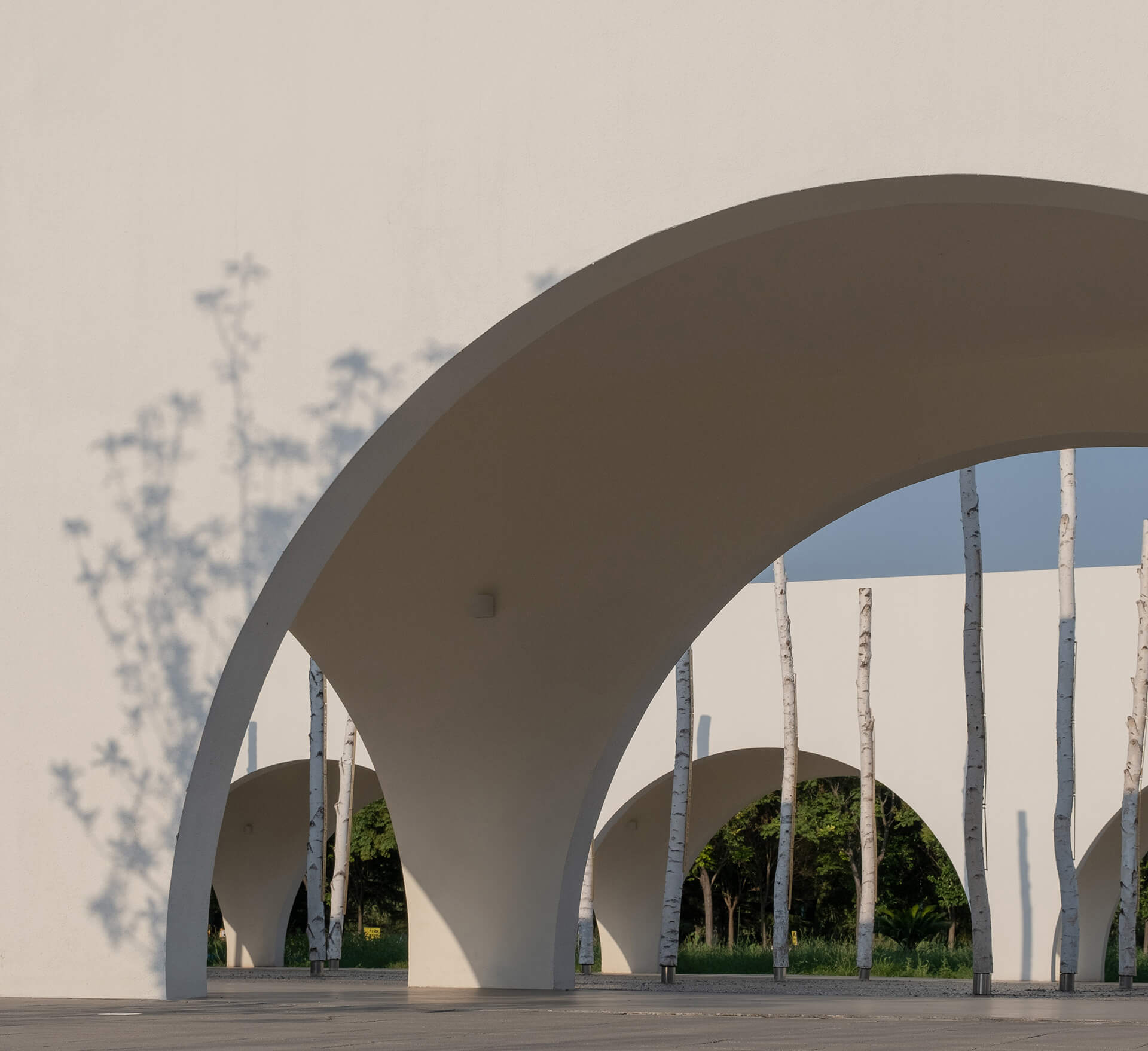 Arched verandah | Qinchang Village Community Center | Studio 10 | STIRworld