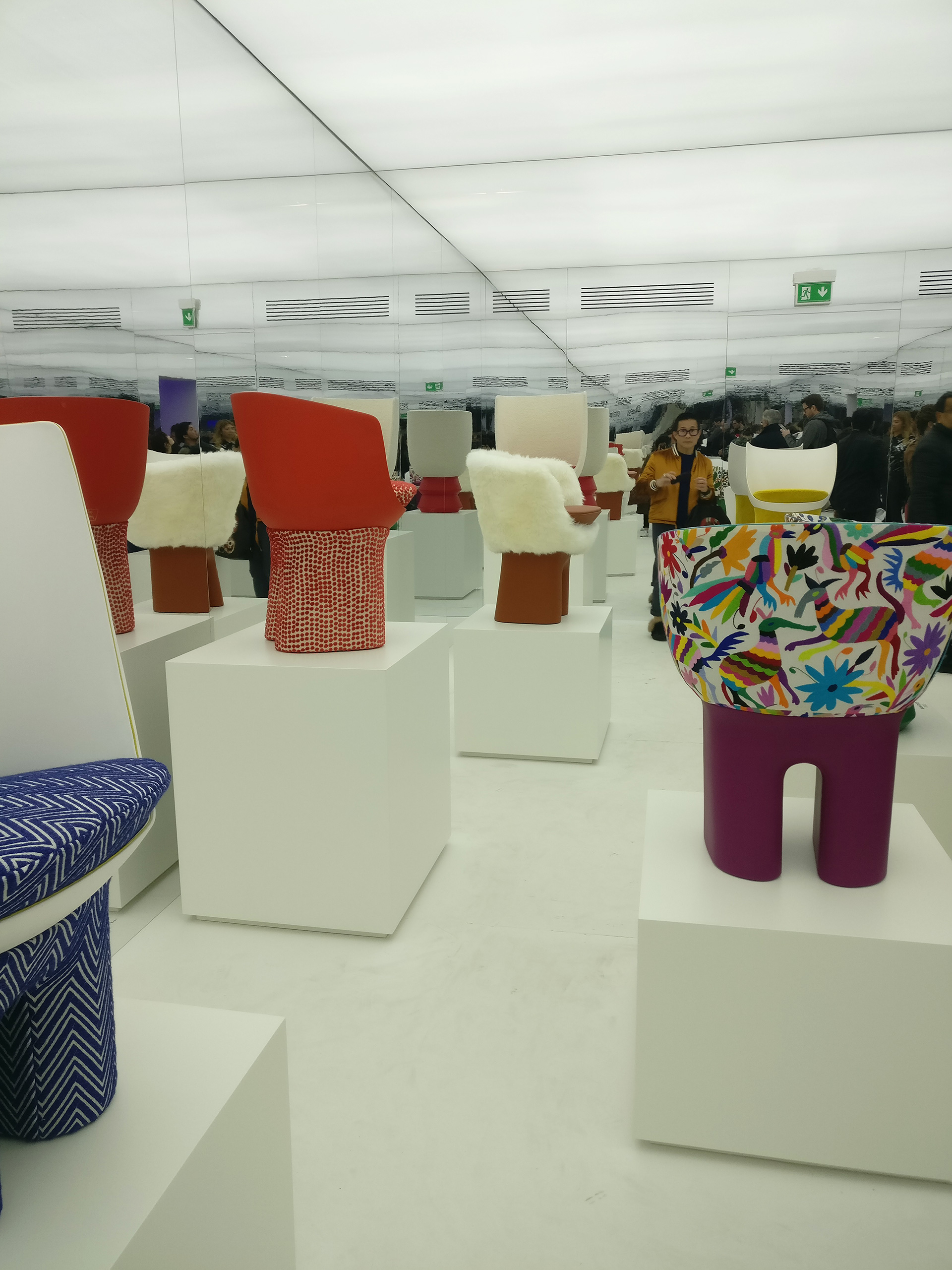 The joyous, playful 'Dolls' by Rae Edges| Louis Vuitton| Objets Nomades | Fuorisalone 2019| STIR