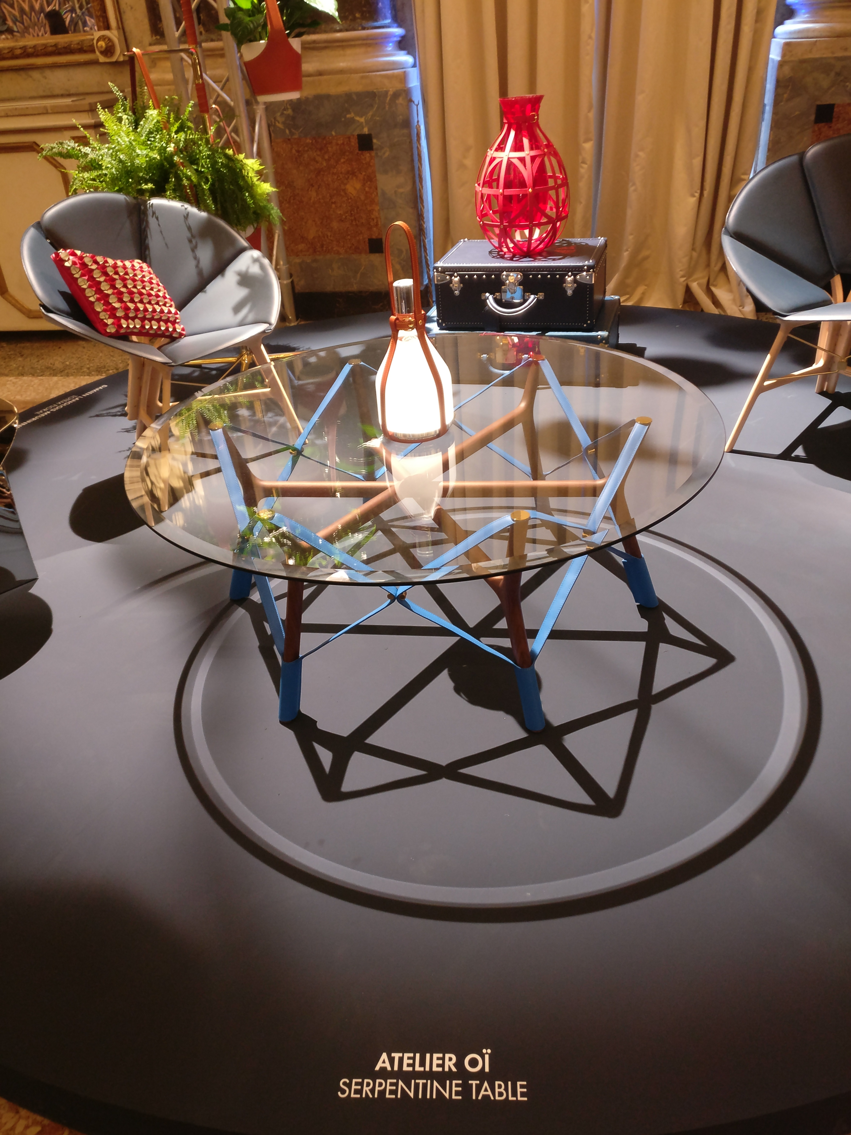 Serpentine Table by Atelier Oi| Louis Vuitton| Objets Nomades | Fuorisalone 2019| STIR