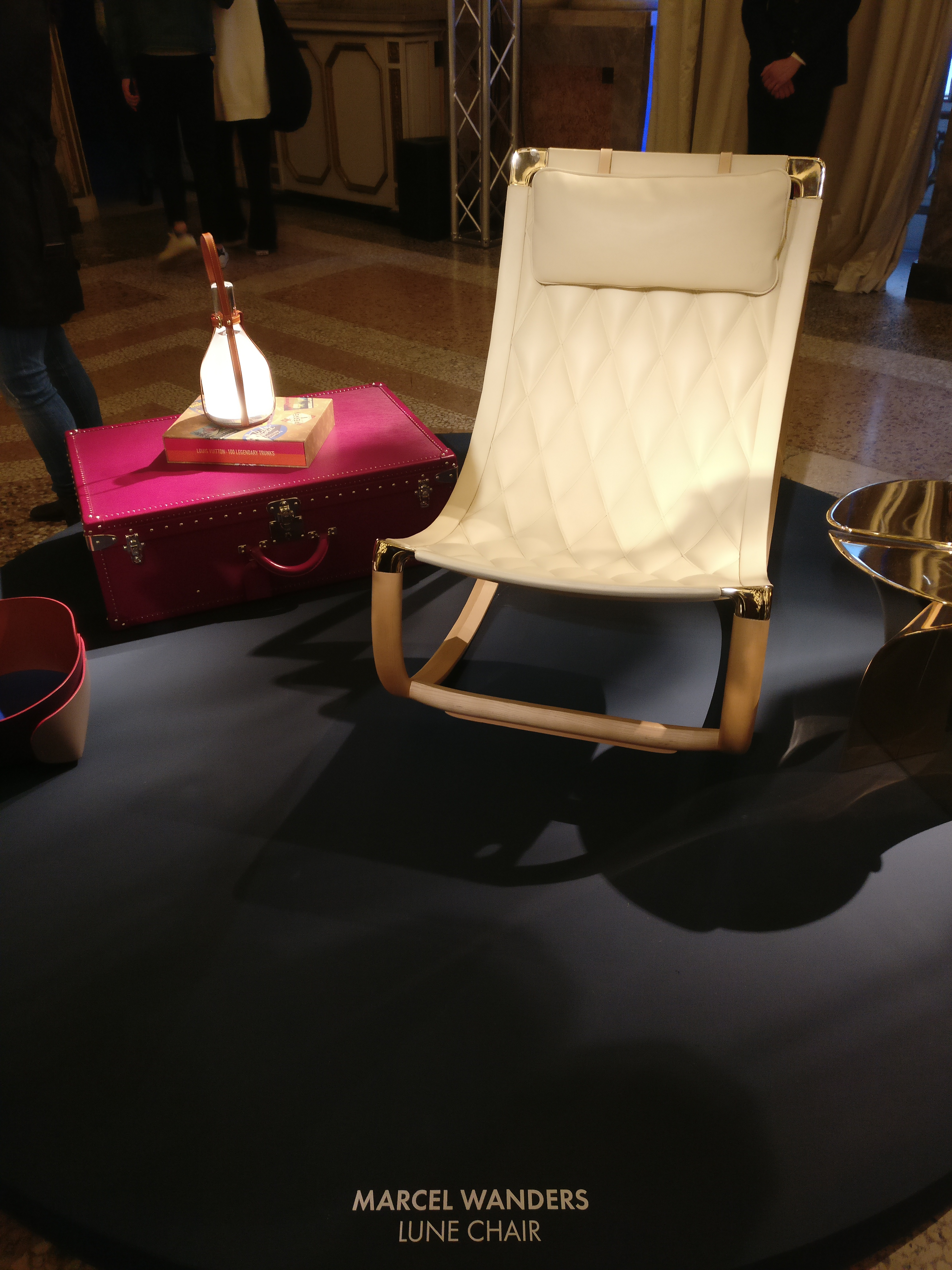 Lune Chair by Marcel Wanders| Louis Vuitton| Objets Nomades | Fuorisalone 2019| STIR