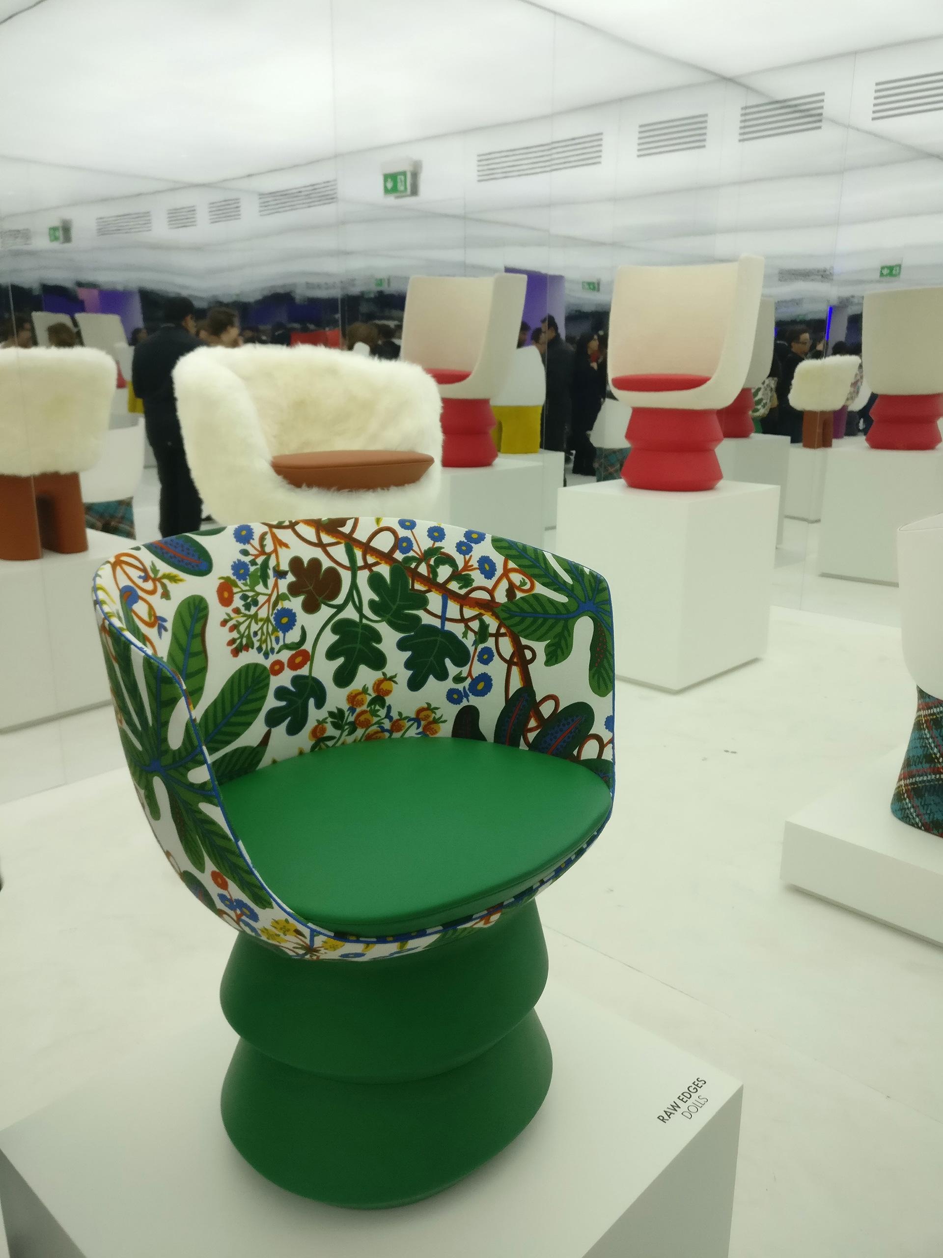 The customisable chairs that can be hand-painted with unique designs | Objets Nomades | Fuorisalone 2019 | Louis Vuitton | STIR