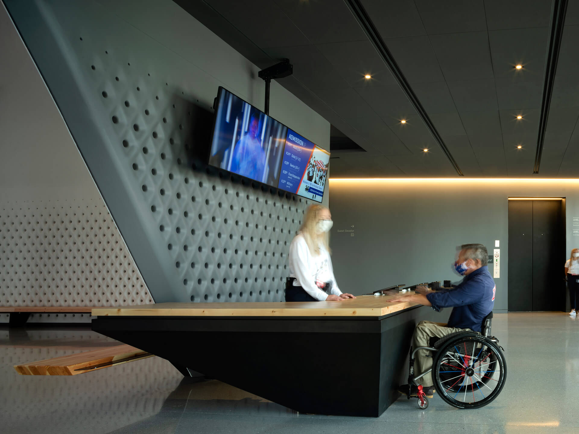 Accessibility is paramount at the USOP Museum | United States Olympic and Paralympic Museum | Diller Scofidio + Renfro | STIRworld