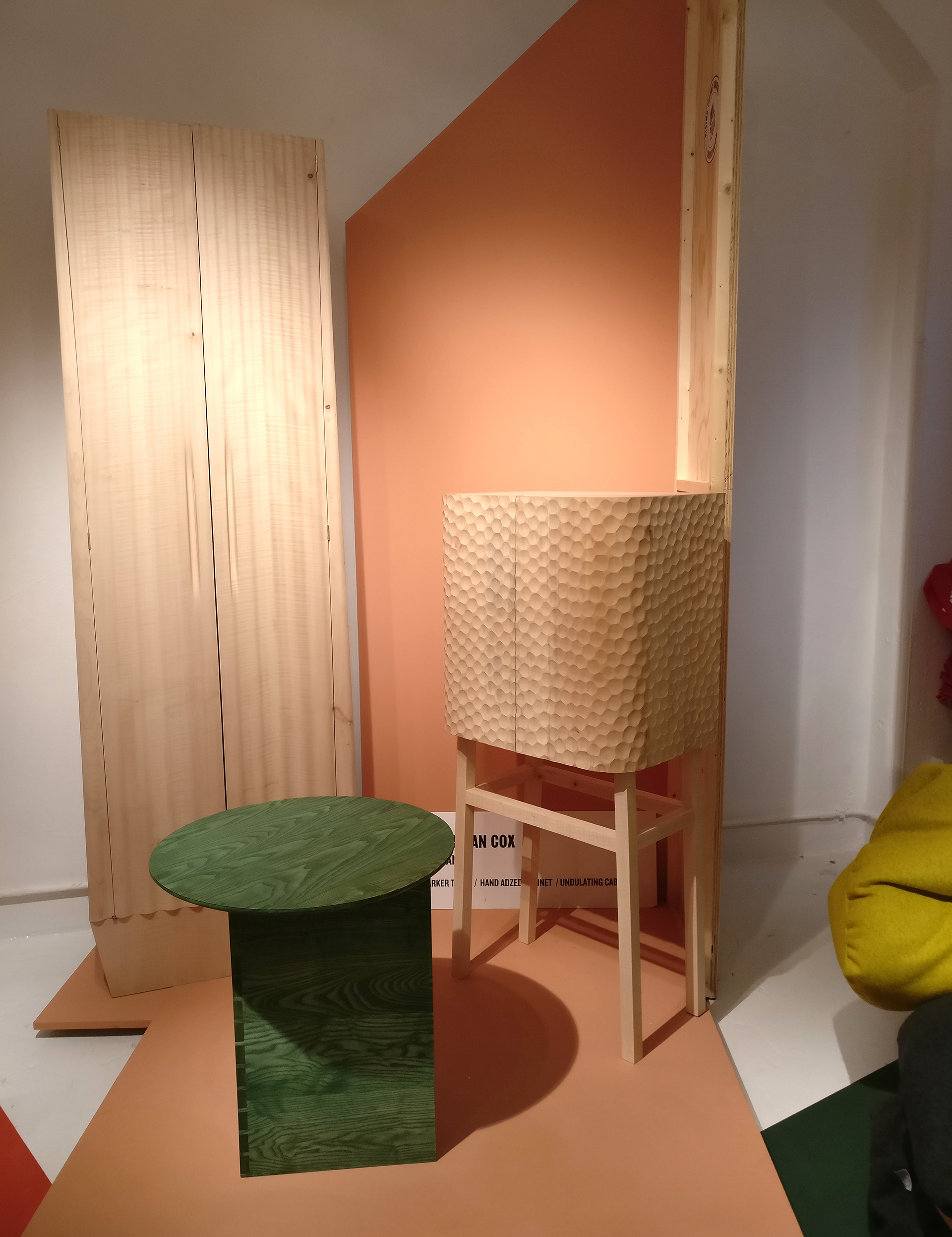 Cabinet by Sebastian Cox - the winner of Rising Talent Awards 2019 | Rossana Orlandi| Salone del Mobile 2019| Fuorisalone 2019| STIR