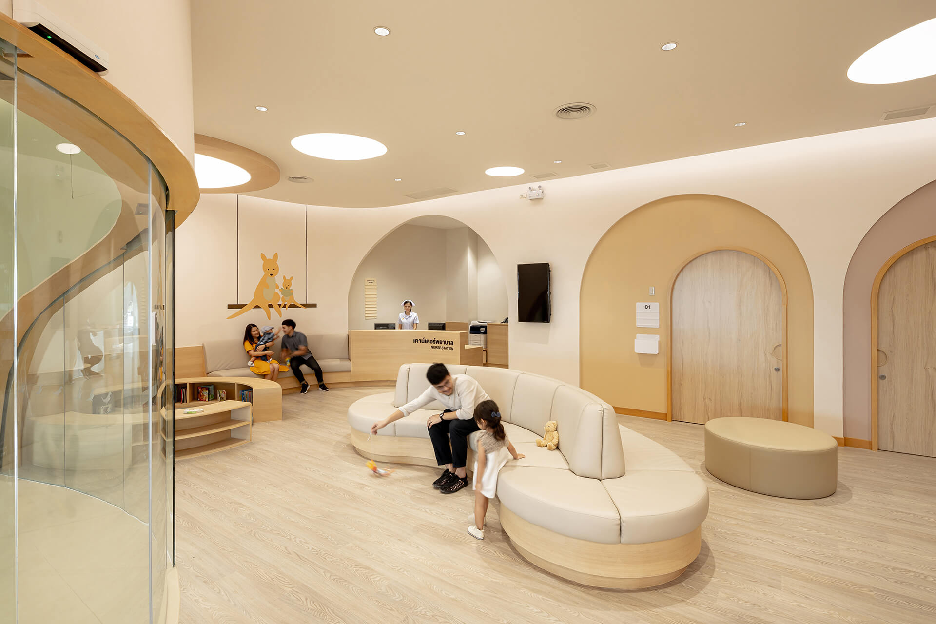 Nurse station | EKH Children's Hospital by Integrated Field | STIRworld