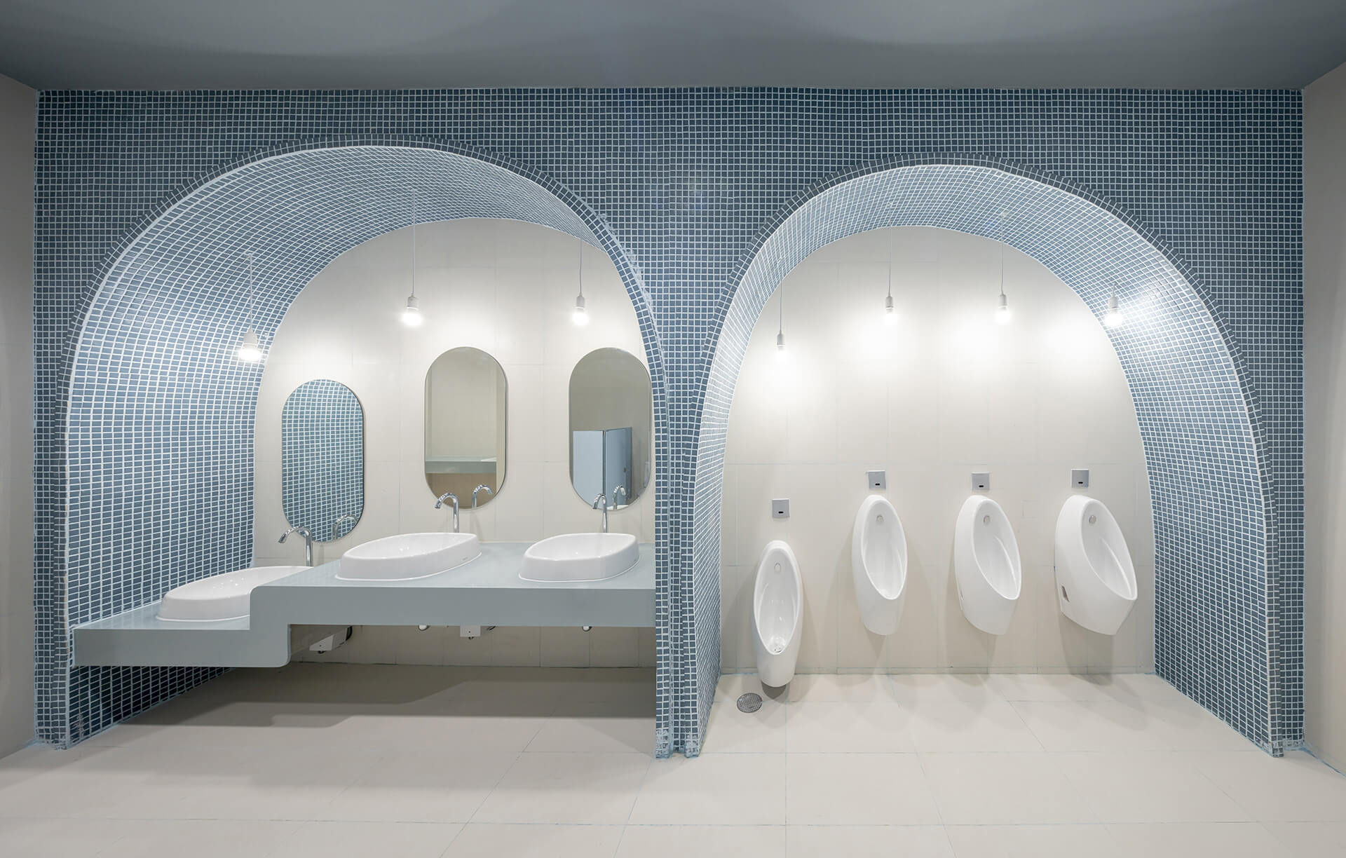 Boys bathroom | EKH Children's Hospital by Integrated Field | STIRworld