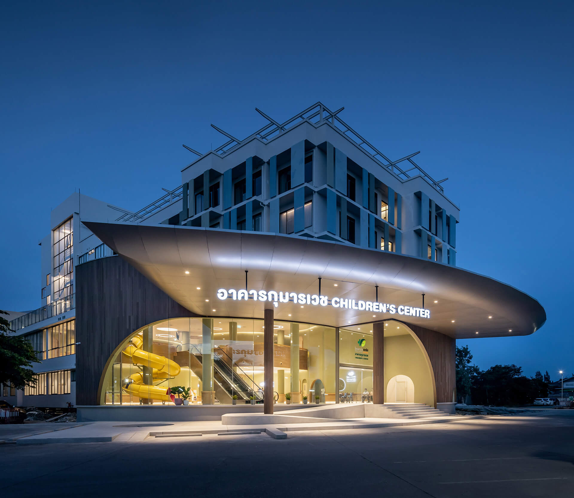 EKH Children's Hospital entrance | EKH Children's Hospital by Integrated Field | STIRworld