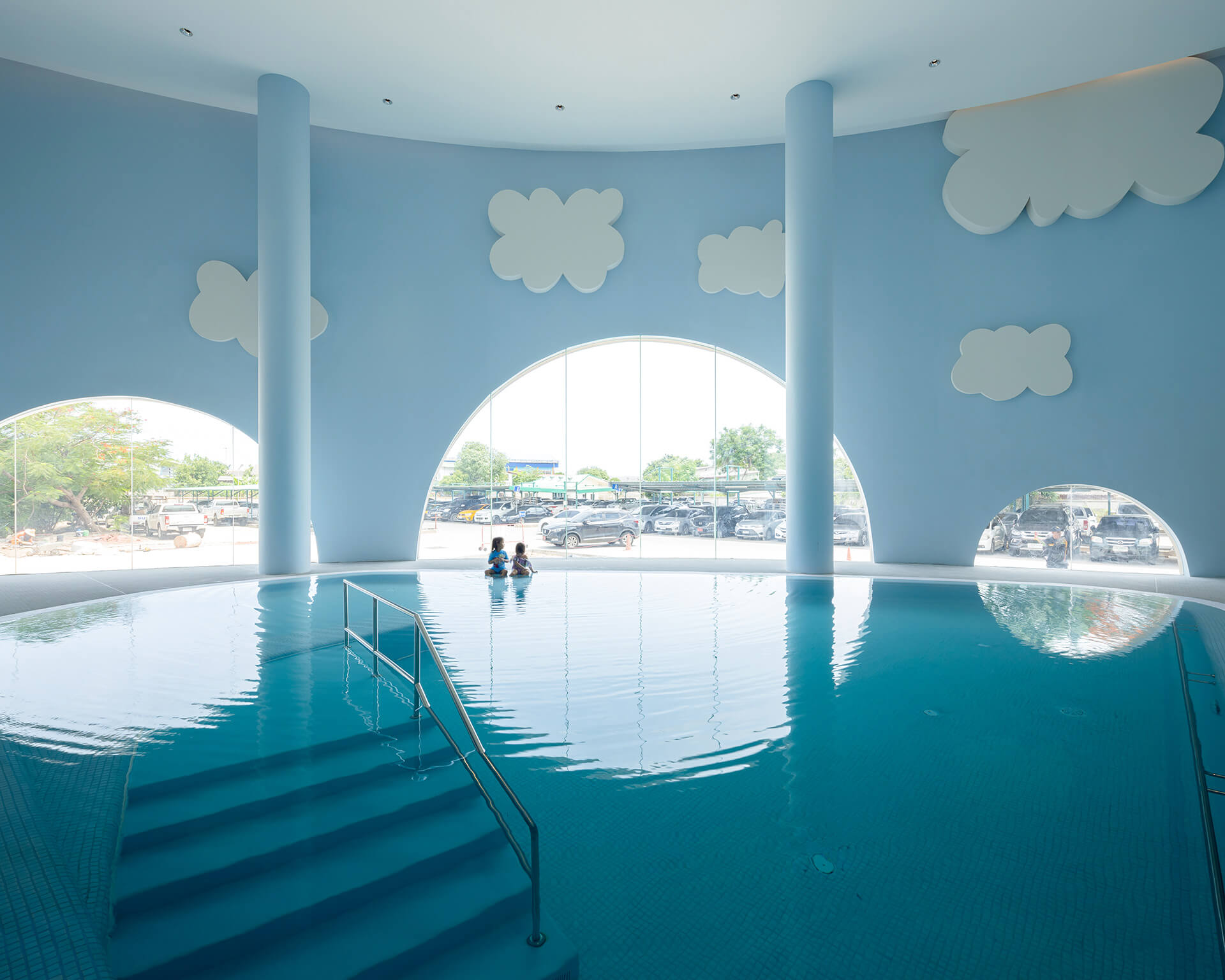 Indoor pool | EKH Children's Hospital by Integrated Field | STIRworld