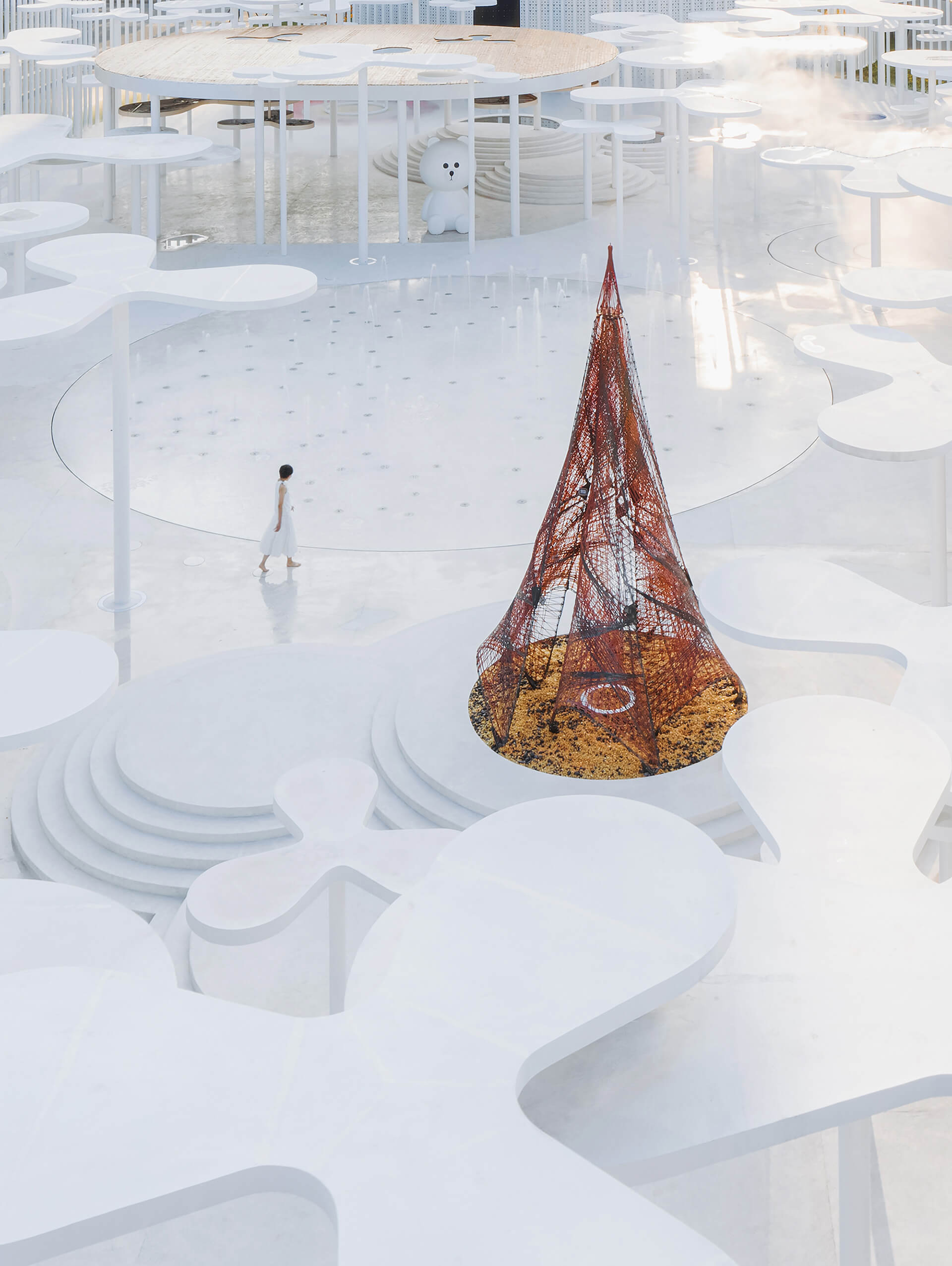 The design allows visitors to linger in a dreamscape | White Upland | Wutopia Lab | STIRworld