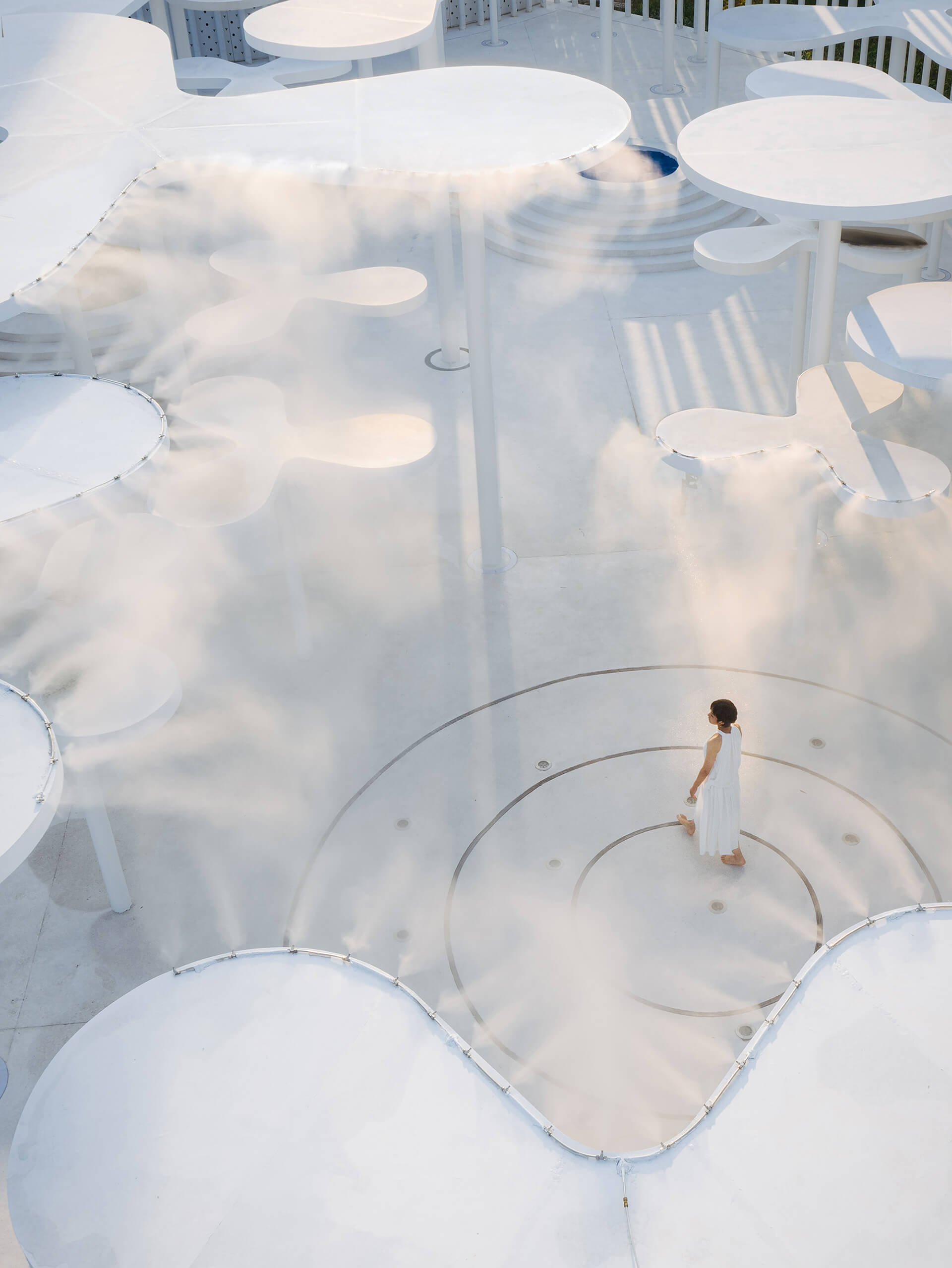 Facilities to create weather have been incorporated in the design | White Upland | Wutopia Lab | STIRworld