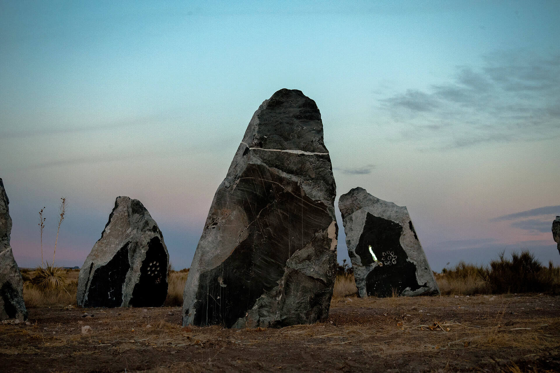 Stone Circle is a manifestation of Mirza's affinity towards human driven cultures | Stone Circle | Haroon Mirza | STIRworld
