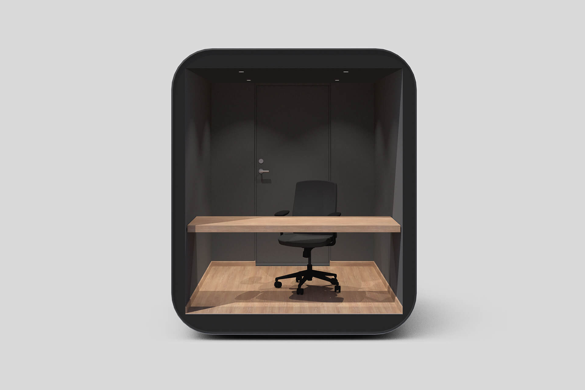 The detachable desk option in the Studypod makes it a multipurpose workplace | Studypod | Livit | STIRworld