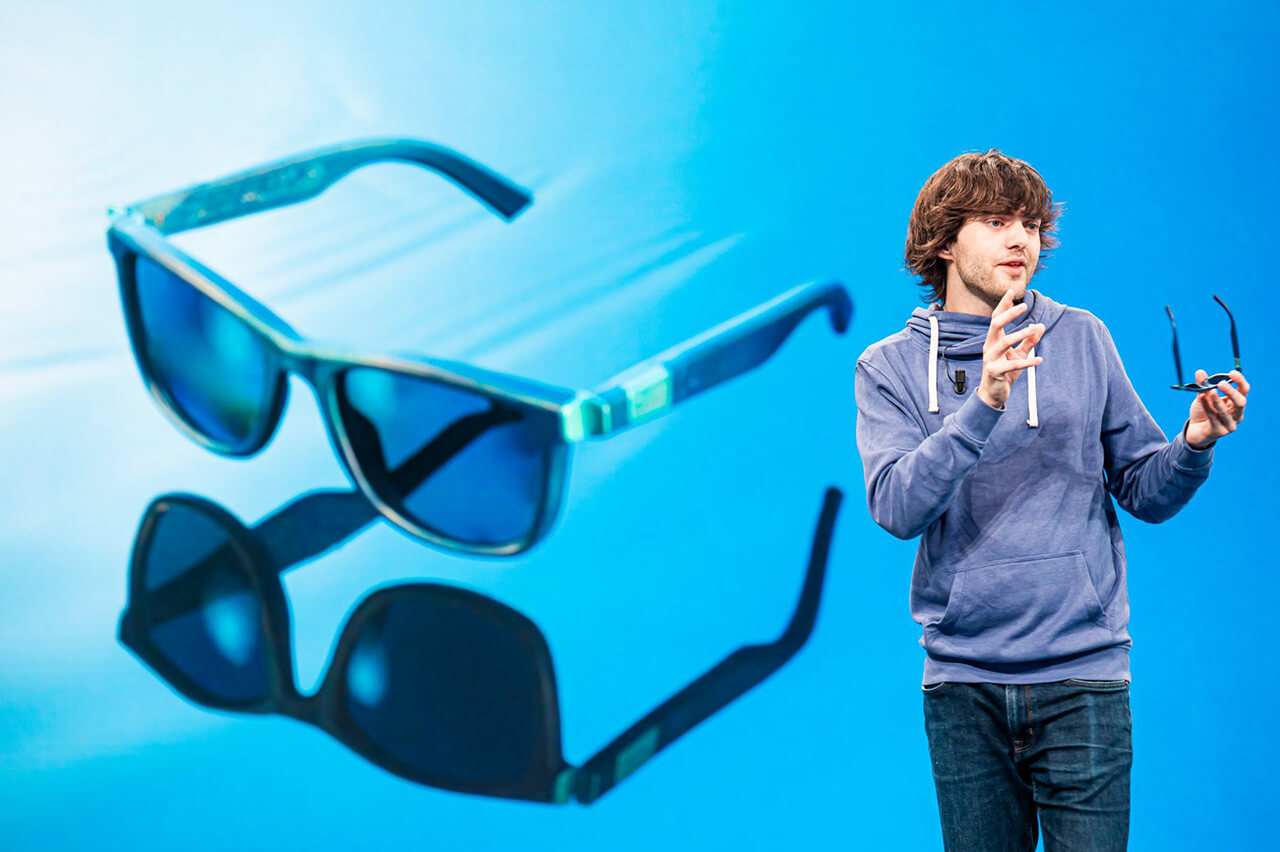 'Boyan Slat, CEO and Founder of The Ocean Cleanup, unveils The Ocean Cleanup Sunglasses | The Ocean Cleanup Sunglasses | STIRworld
