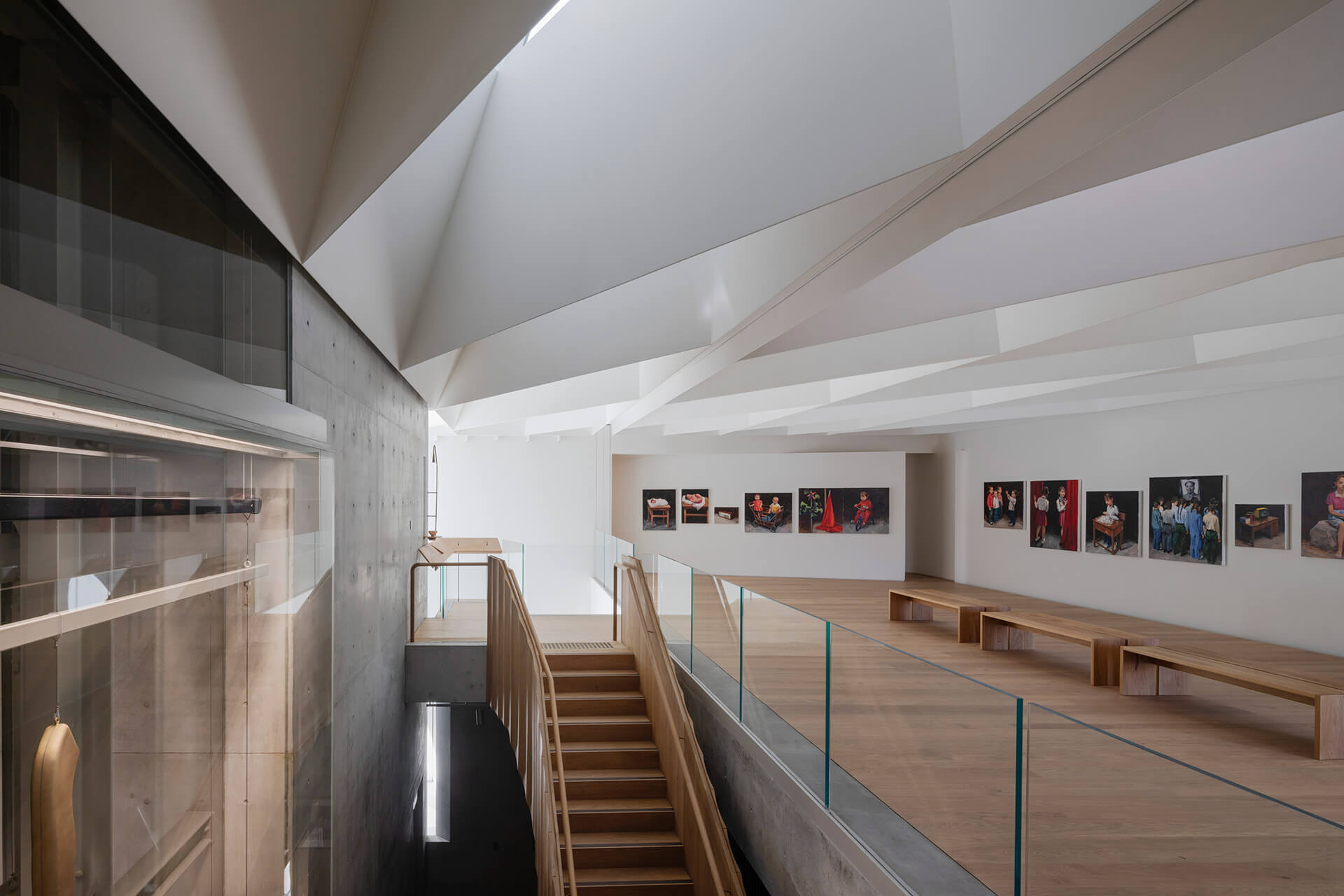 The gallery space | Phoenix Central park | Durbach Block Jaggers and John Wardle Architects | STIRworld