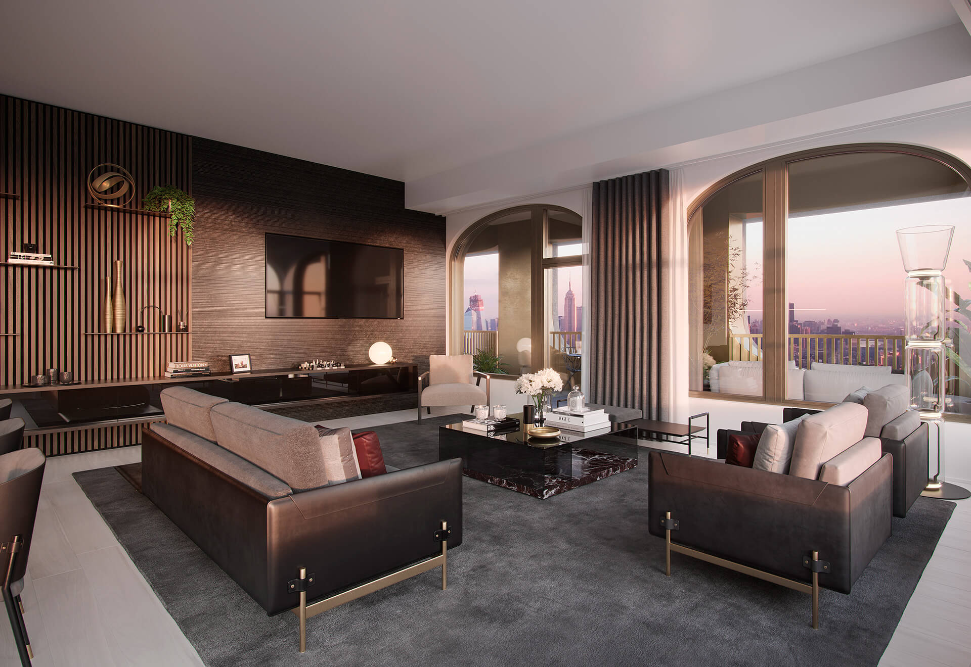 The spaces within the homes will feature products from Aston Martin collection | 130 William | New York | STIRworld