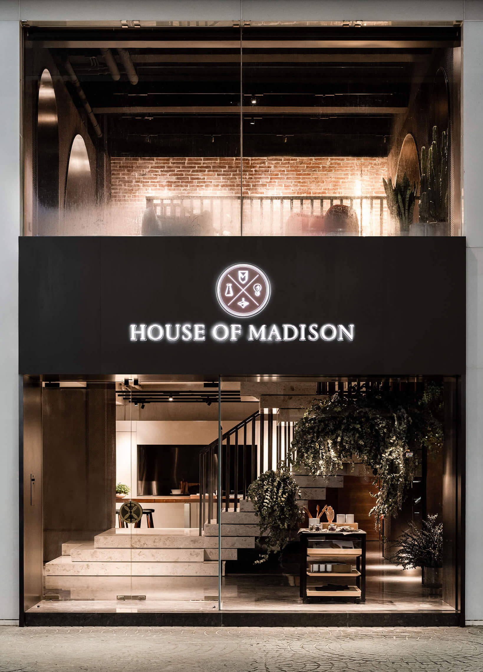 The façade of House of Madison | House of Madison designed by via. | STIRworld