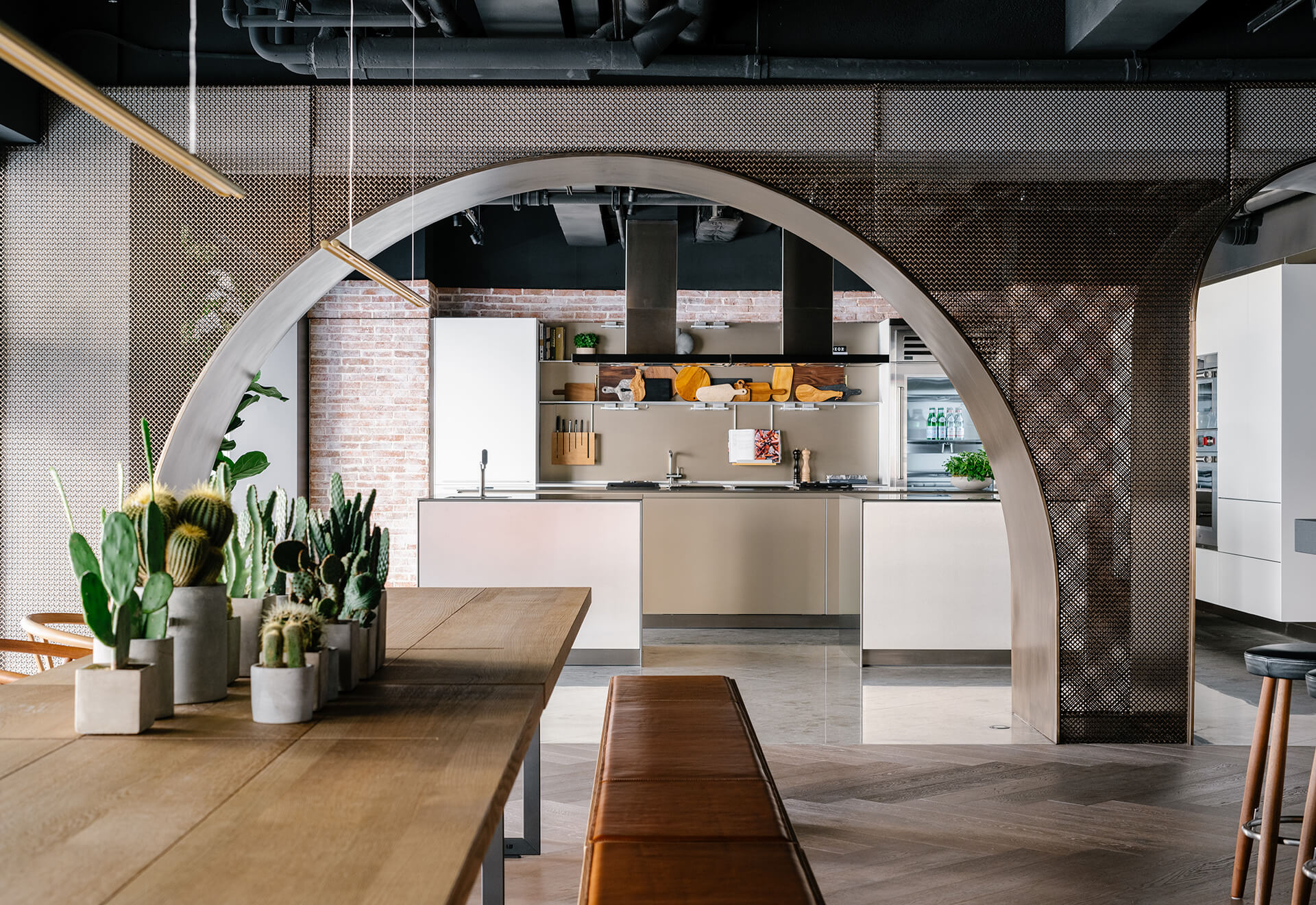 Meraki Kitchen seen from The Kokoro room bar and dining space | House of Madison designed by via. | STIRworld
