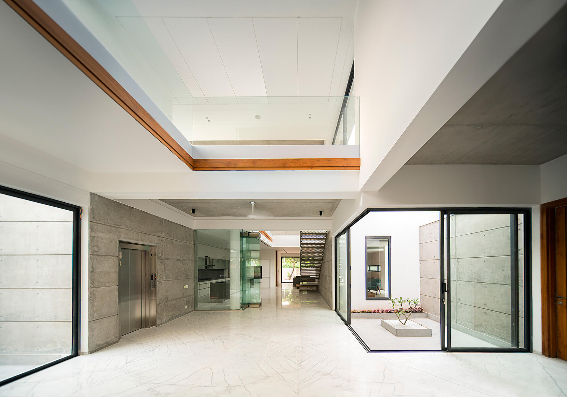 Courtyards overlap with the living spaces | Charged Voids | Chandigarh, India | STIRworld