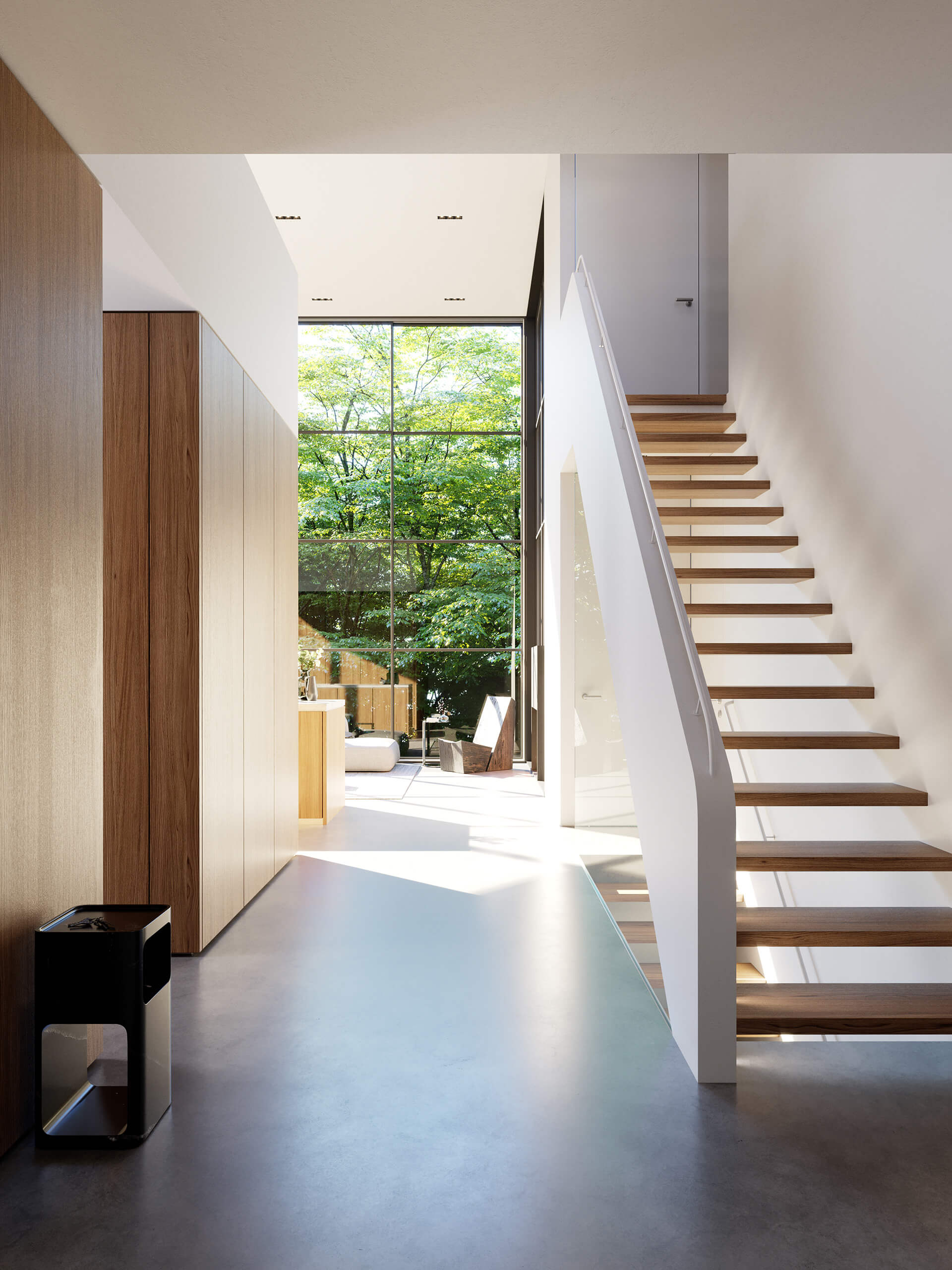 The grand foyer of Crestwood Residence | Crestwood Residence by Ancerl Studio | STIRworld