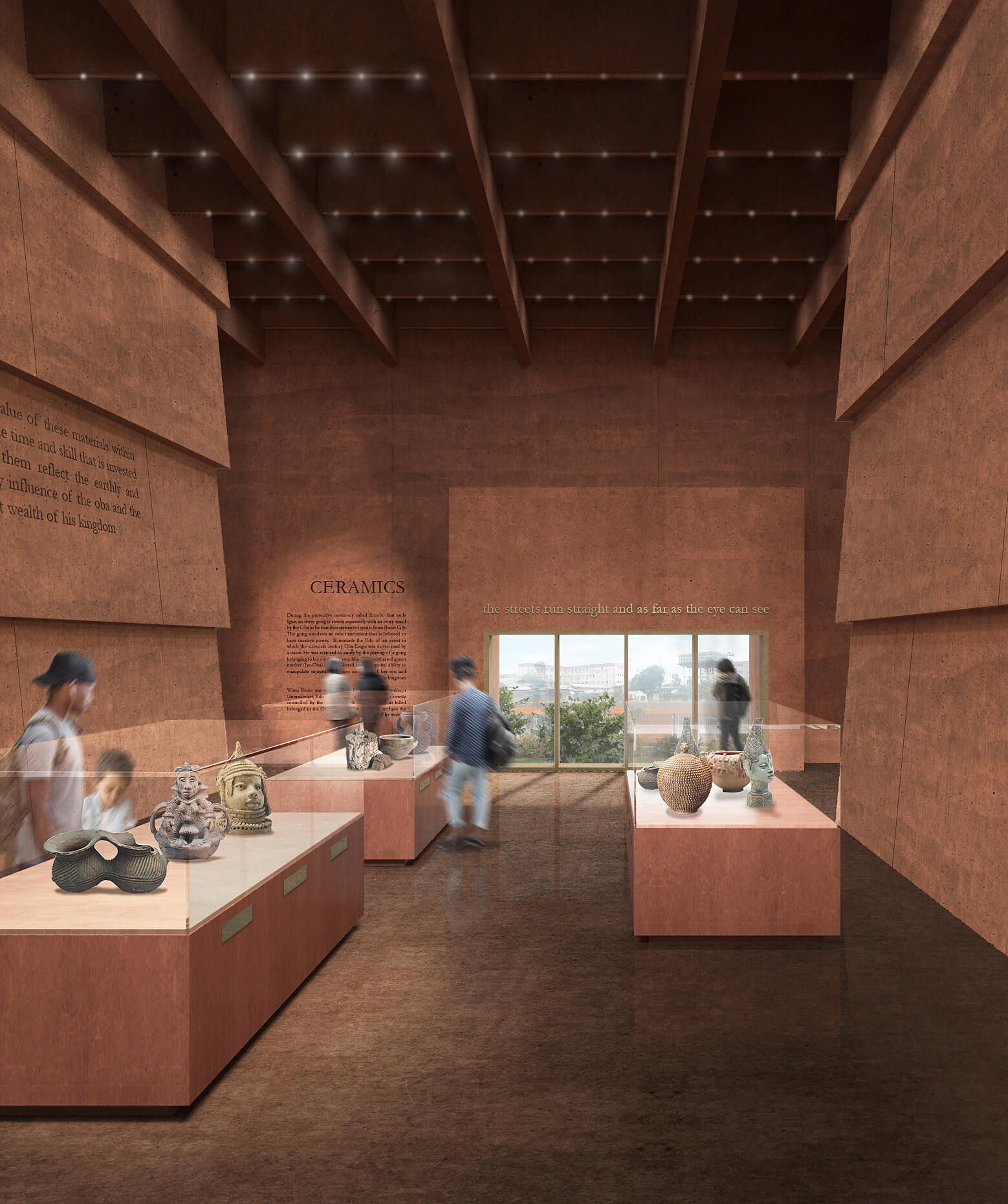Ceramic Gallery | Edo Museum of West African Art | Adjaye Associates | STIRworld