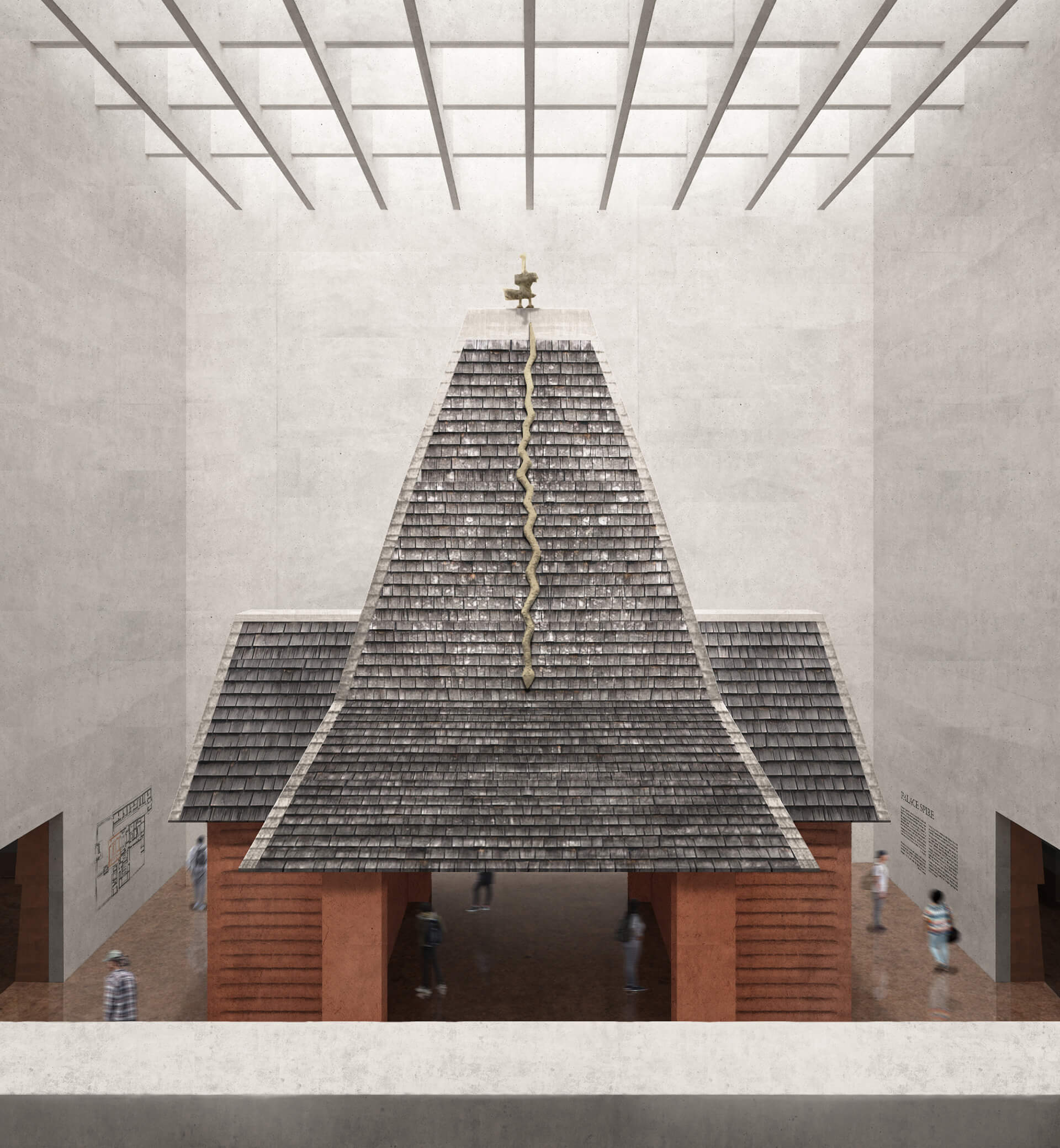 The reconstructed Royal Spire pavilion | Edo Museum of West African Art | Adjaye Associates | STIRworld