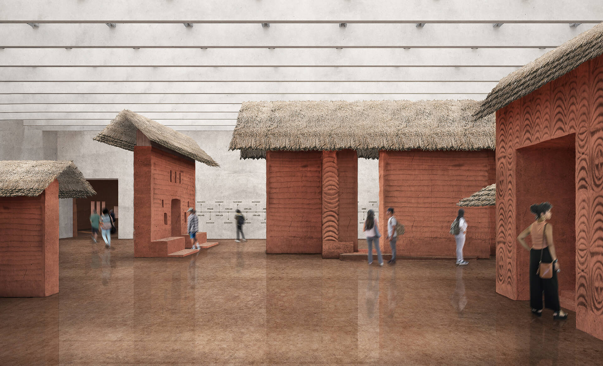 The museum will also house restored construction elements dug out from the archeological site | Edo Museum of West African Art | Adjaye Associates | STIRworld
