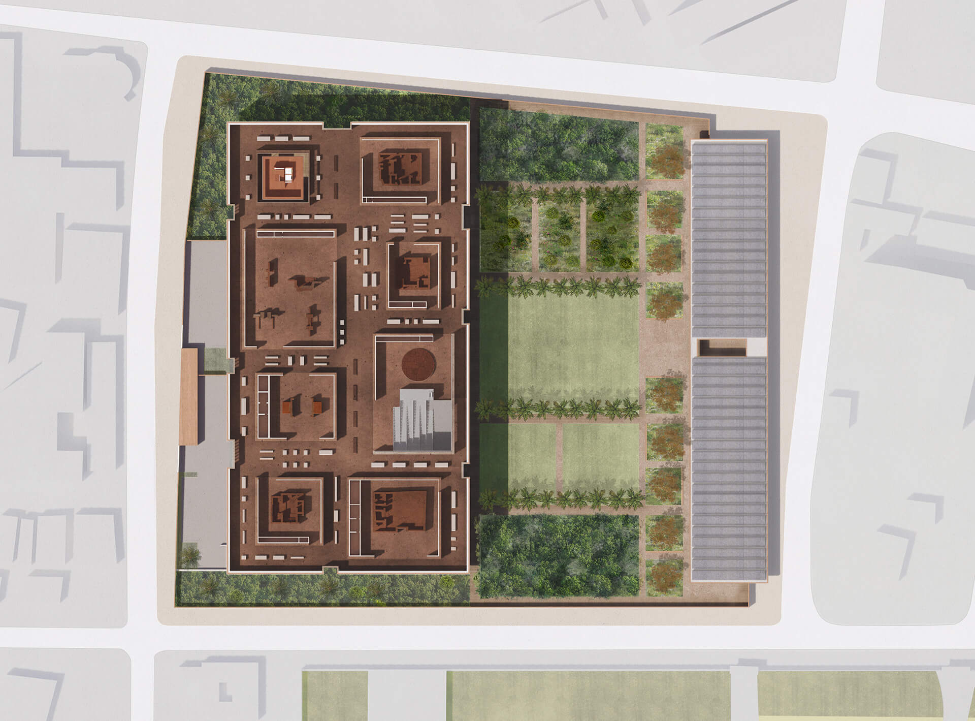 First Floor Plan | Edo Museum of West African Art | Adjaye Associates | STIRworld