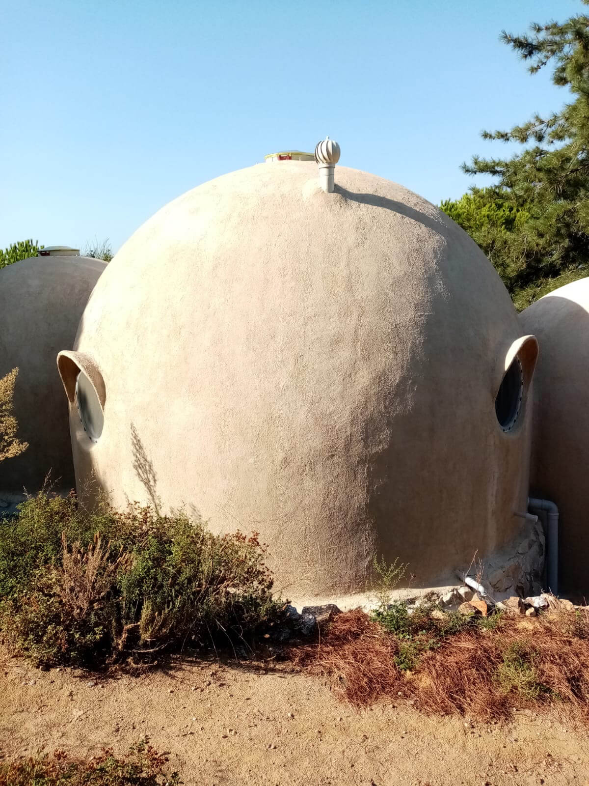 The shape of the dome seeks inspiration from natural forms | 44m<sup>2</sup> Low Impact Home | Matthew Prosser, Holistic Progression Designs | STIRworld