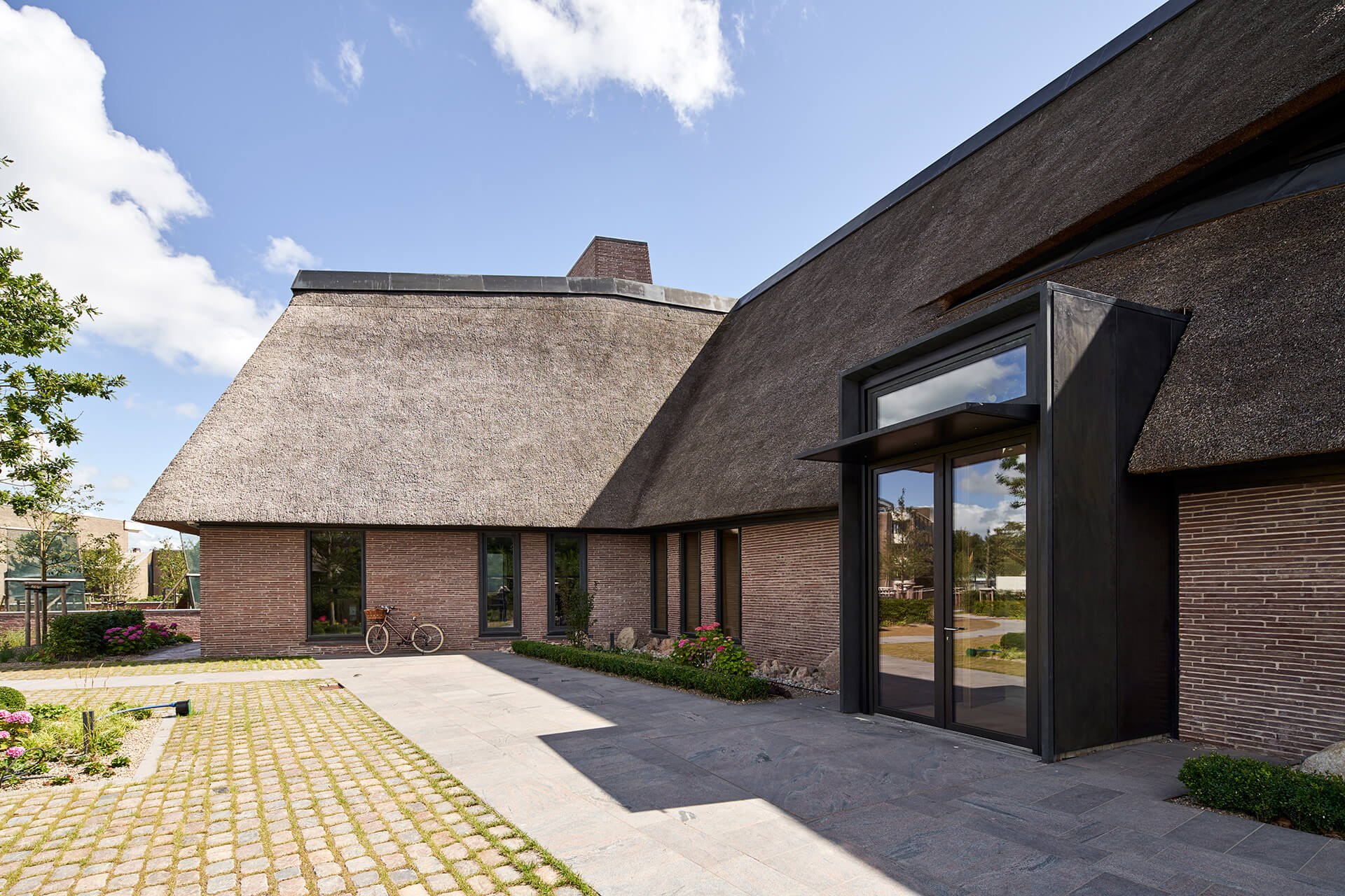 The entrance to the house | House on a North Sea Island | Hubschmitz Arkitekten | STIRworld