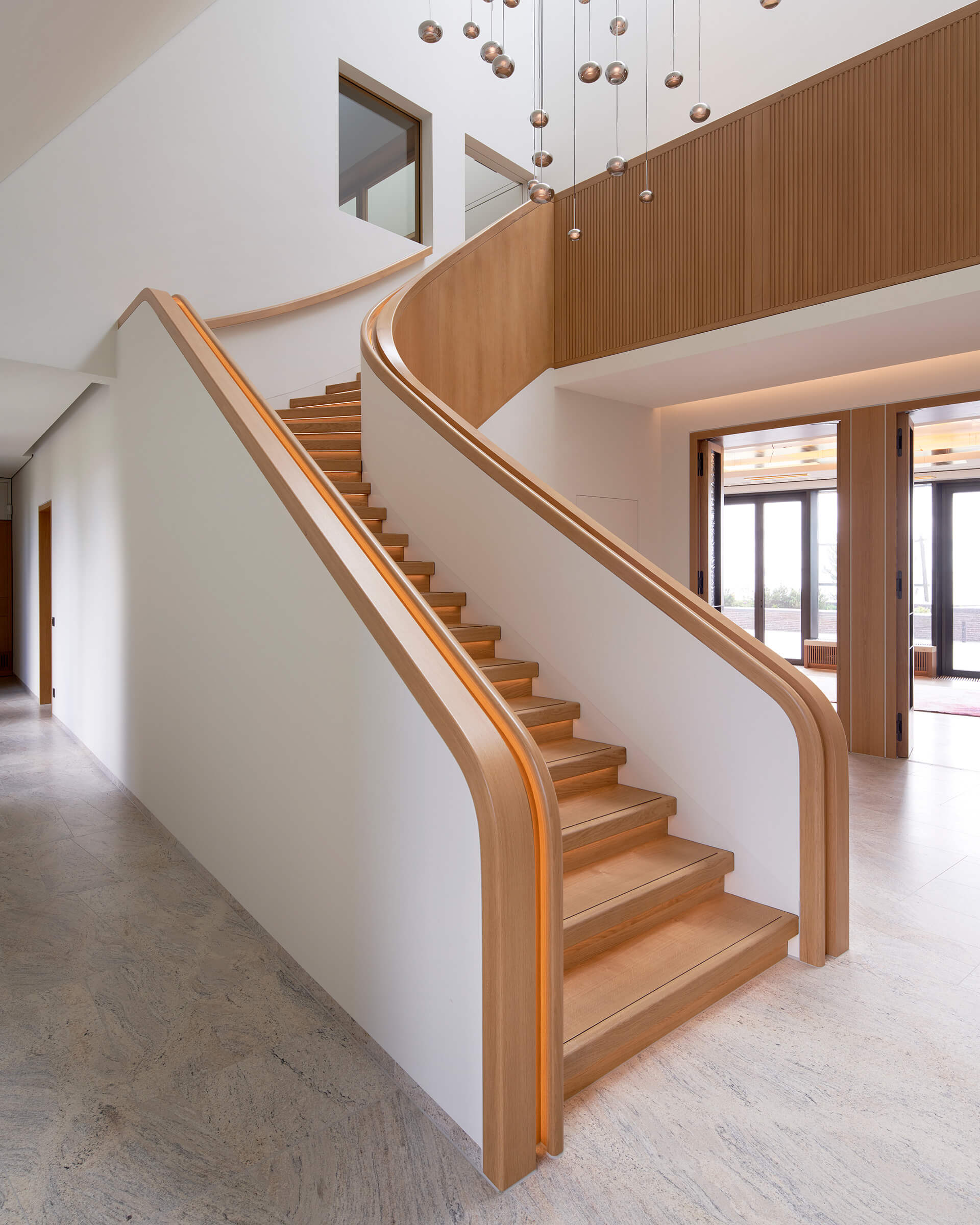 Internal staircase | House on a North Sea Island | Hubschmitz Arkitekten | STIRworld