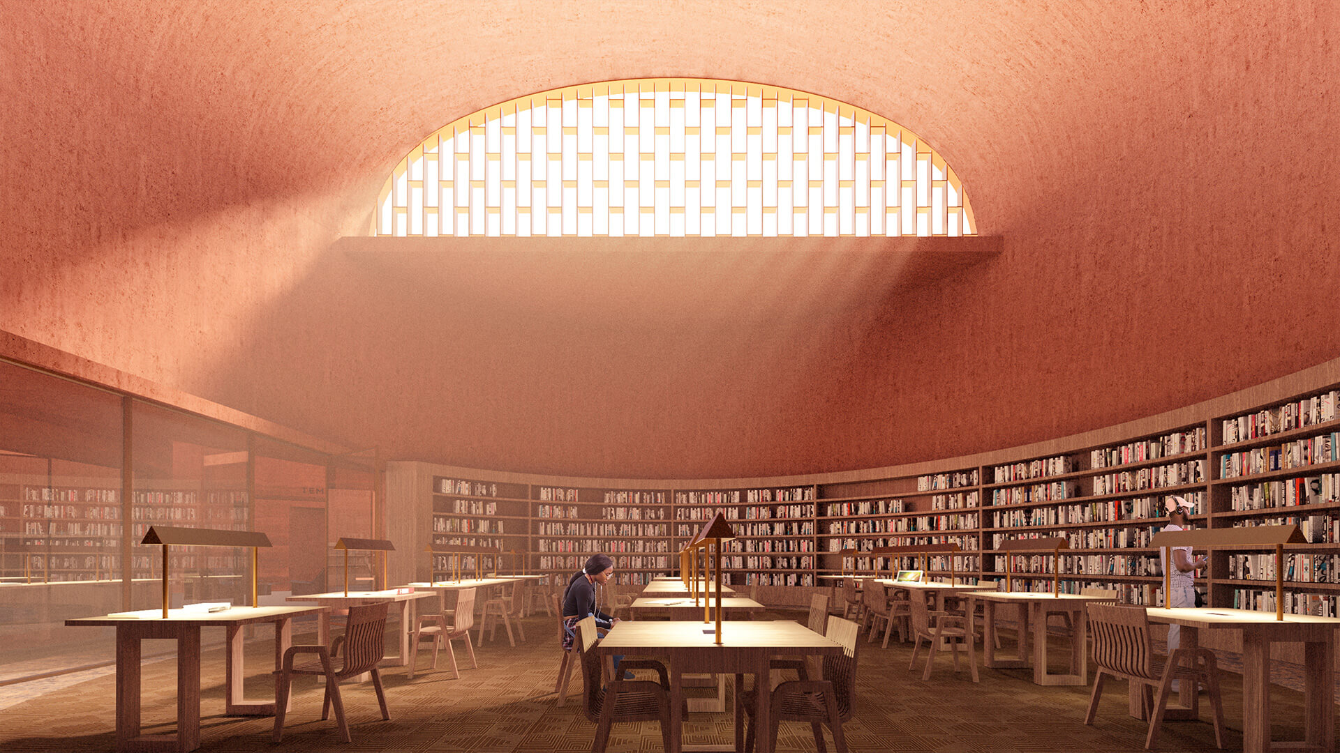 Visualisation of the research centre | Thabo Mbeki Presidential Library by Adjaye Associates | STIRworld