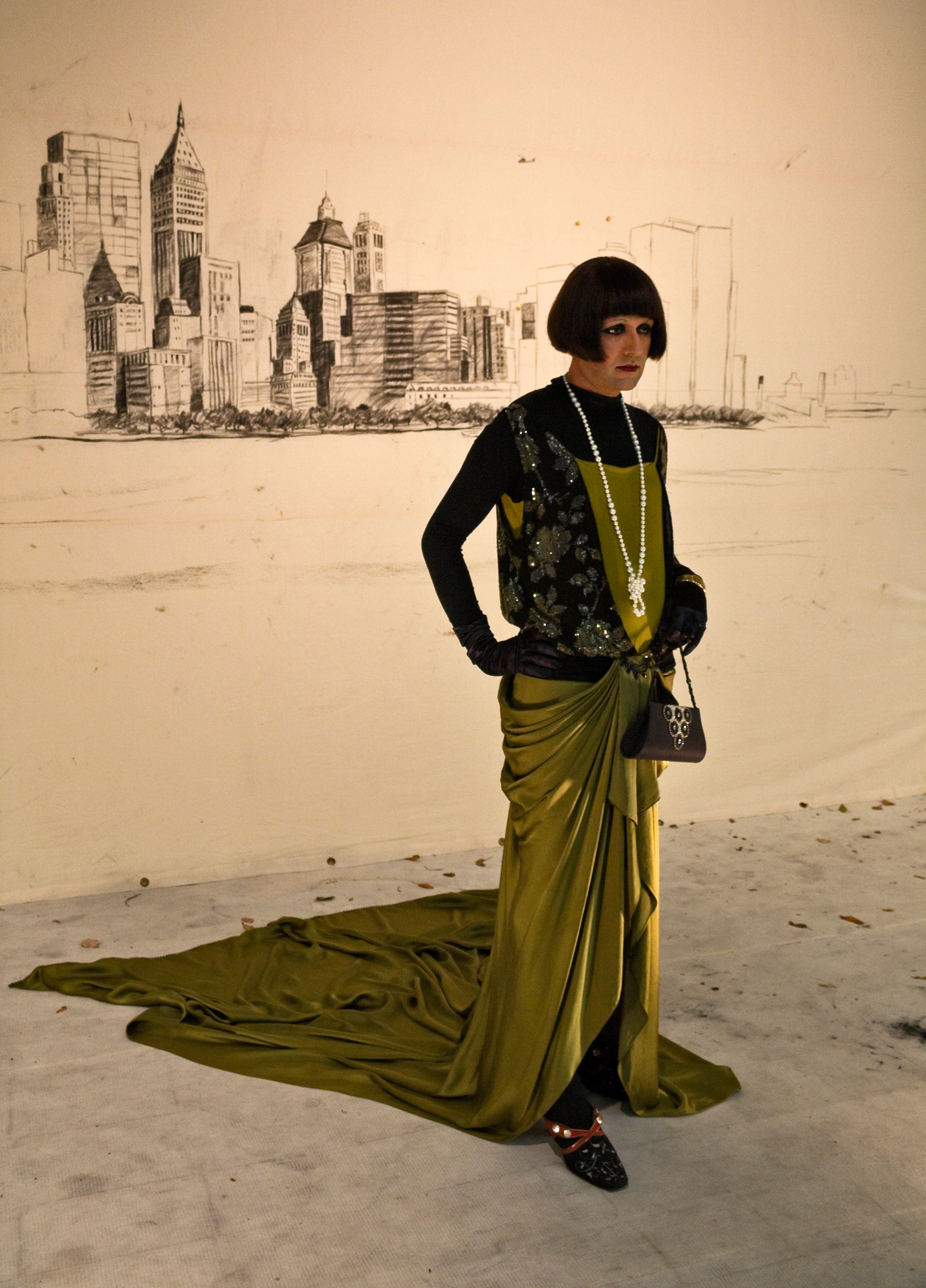 Nikhil Chopra takes on a feminine avatar for <i>Performa</i> at the New Museum in 2009| Nikhil Chopra| MET| STIR