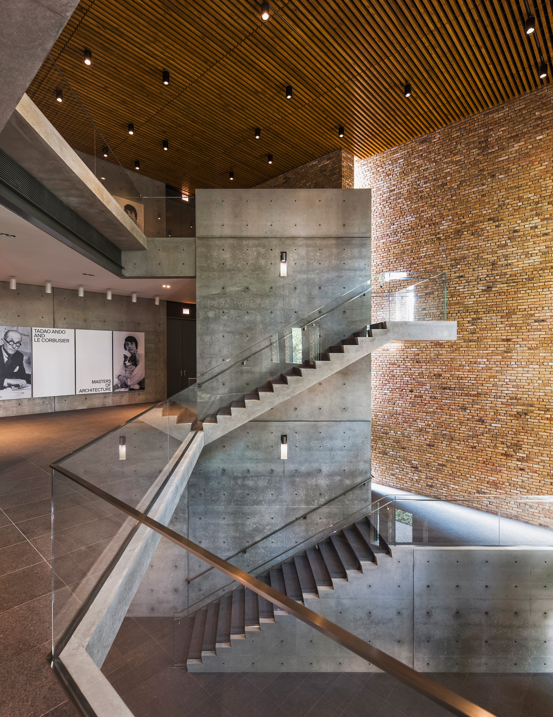 The grand staircase| Wrightwood 659| Tadao Ando| STIR