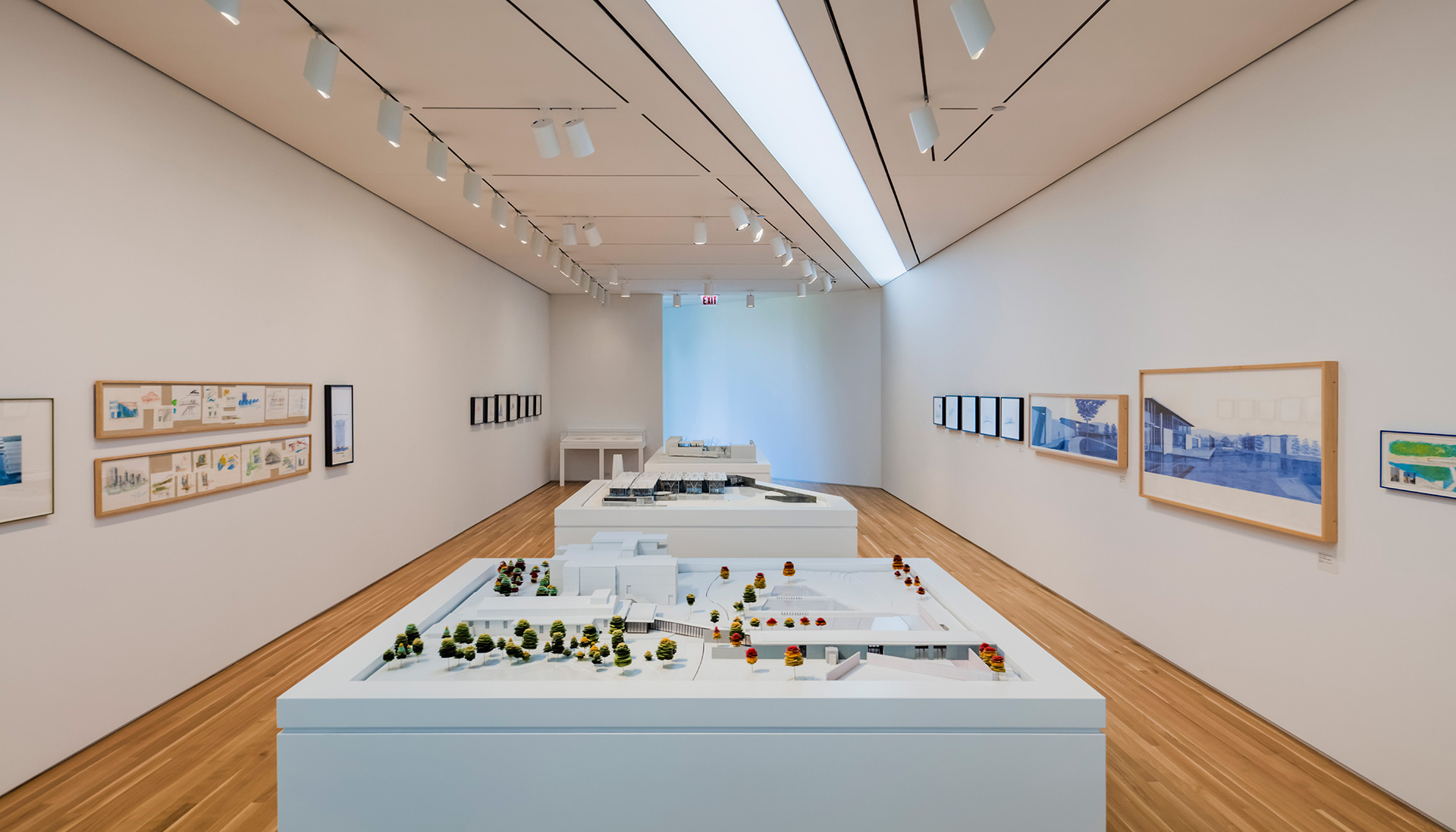 Drawings, photographs, and models on display at the inaugural exhibition| Wrightwood 659| Tadao Ando| STIR