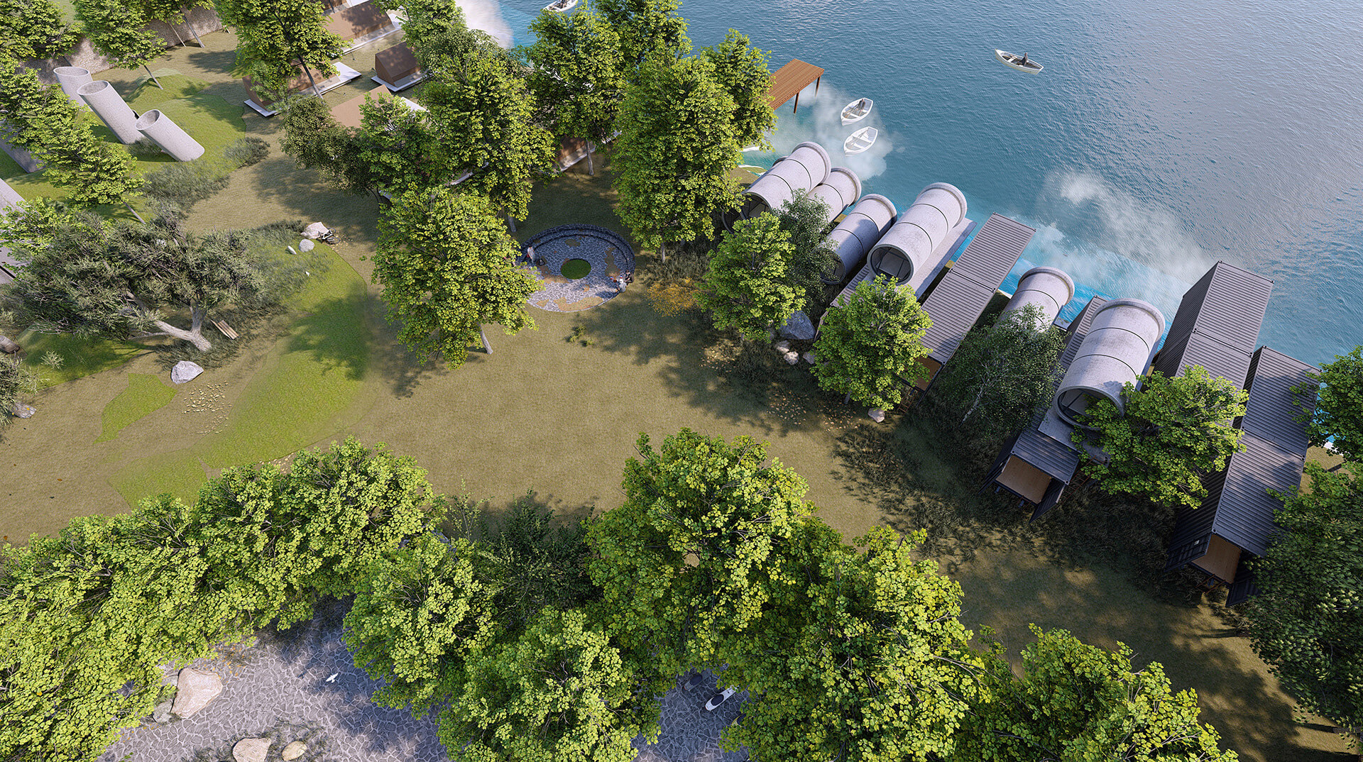 The infrastructure and planning of the Camp Site | Camp Site | Studio VDGA | STIRworld