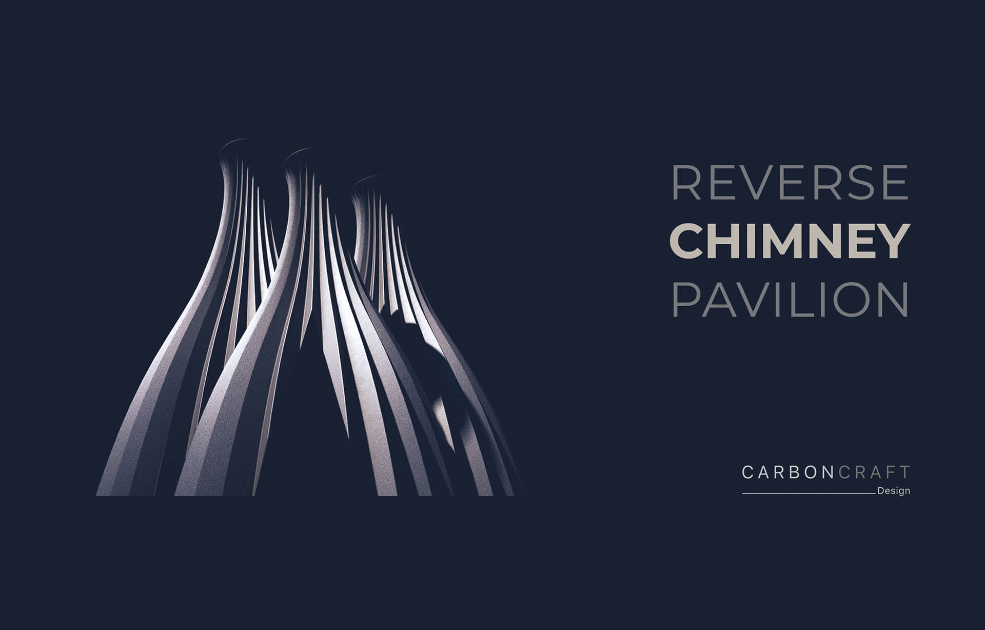 Conceptual form of Reverse Chimney Pavilion | Reverse Chimney Pavilion by Carbon Craft Design | STIRworld