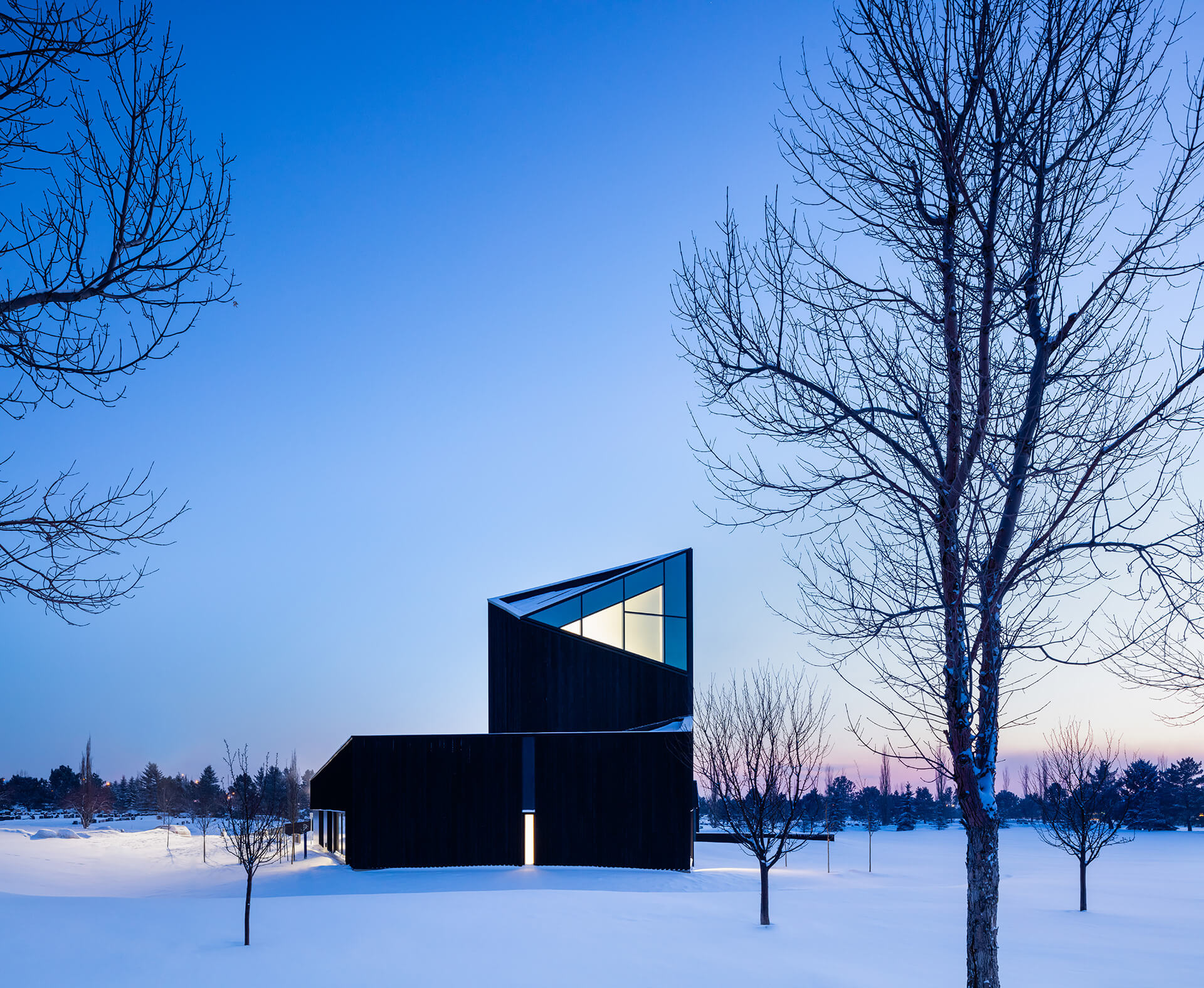 The architecture advocates for a non-religious sentiment | South Haven Centre for Remembrance by Shape Architecture | STIRworld