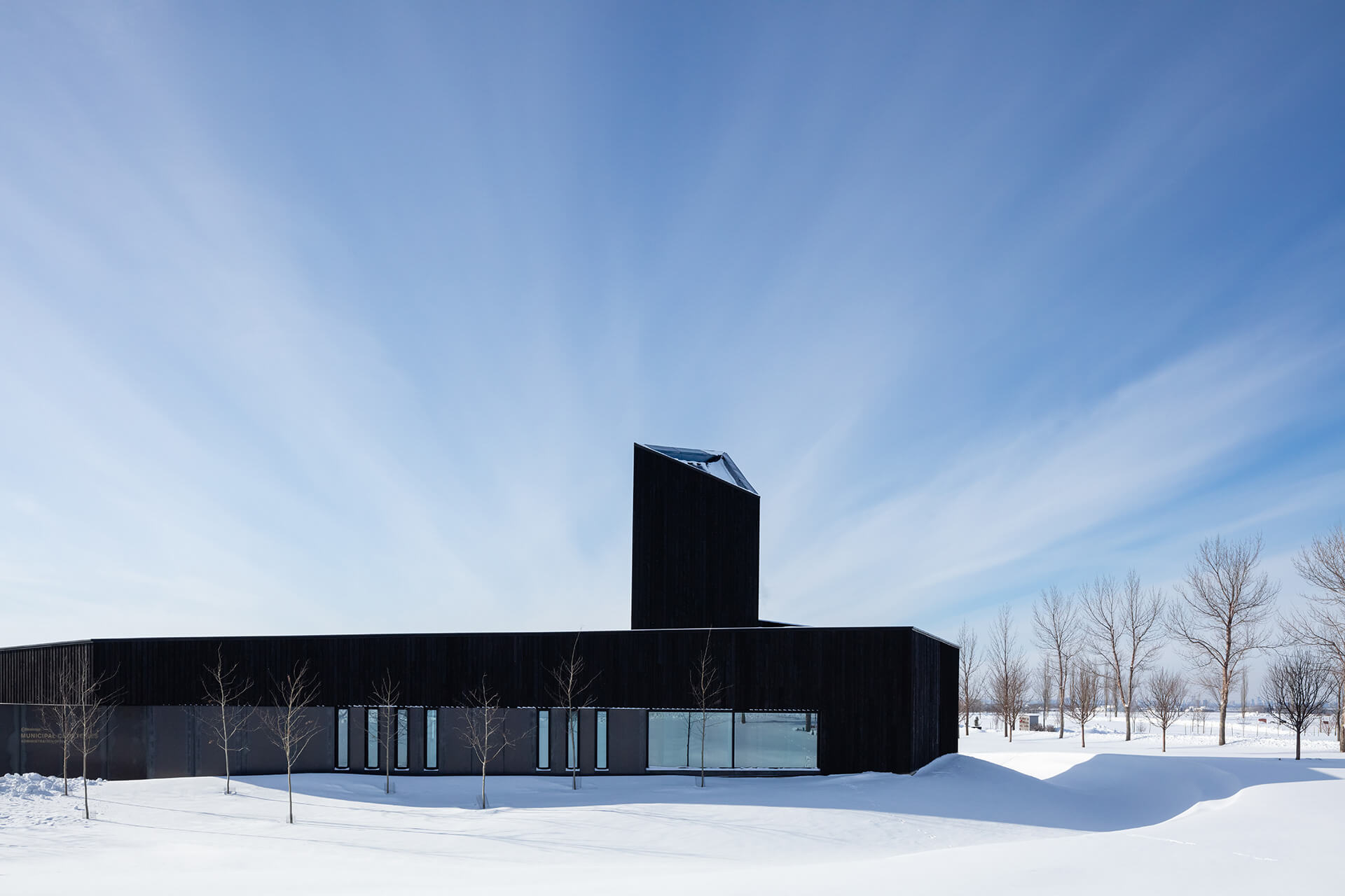 Apart from bringing in the sun, the tower stands as a marker in the landscape | South Haven Centre for Remembrance by Shape Architecture | STIRworld